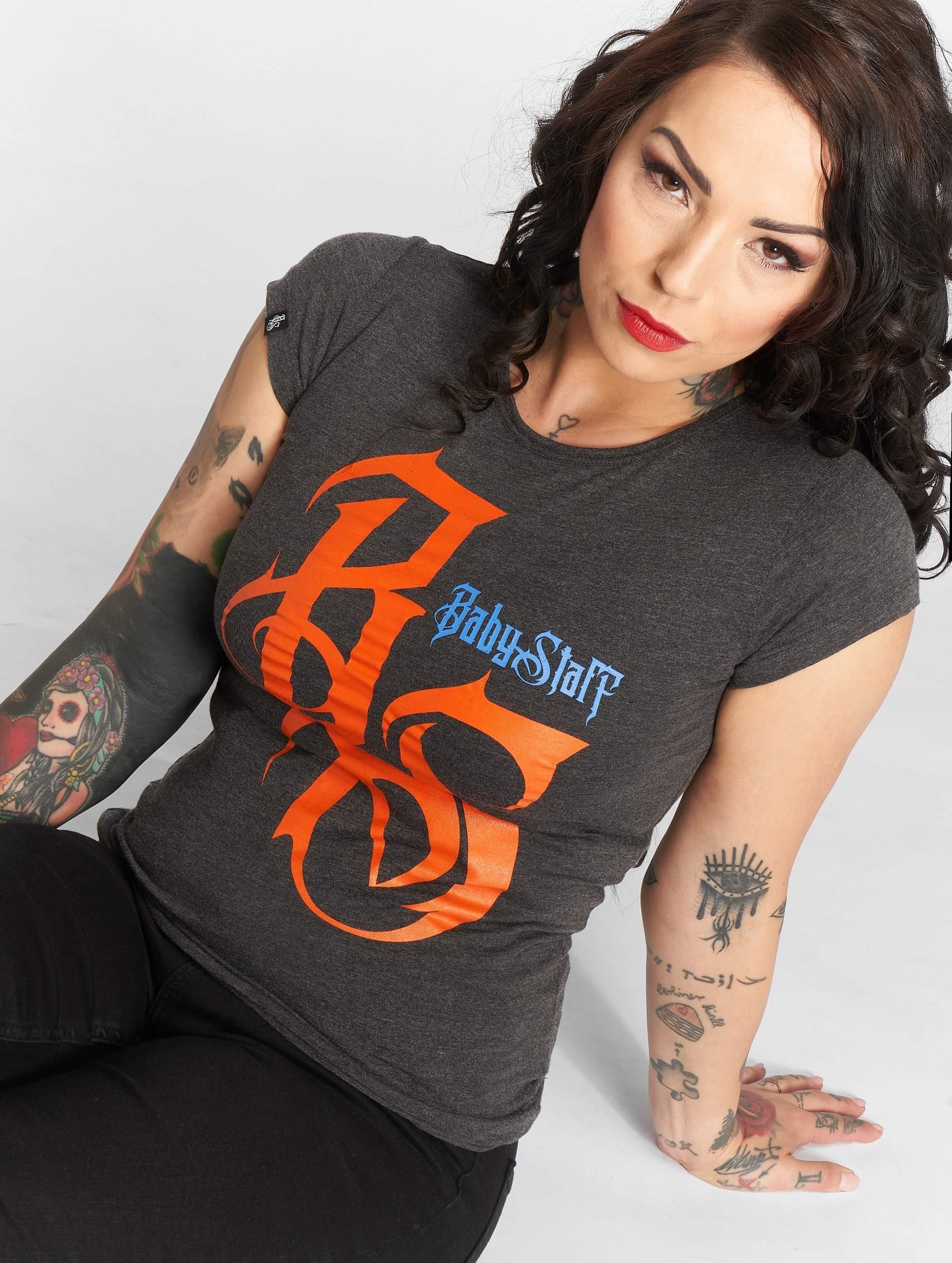 Babystaff   Nukop  gris Femme T-Shirt