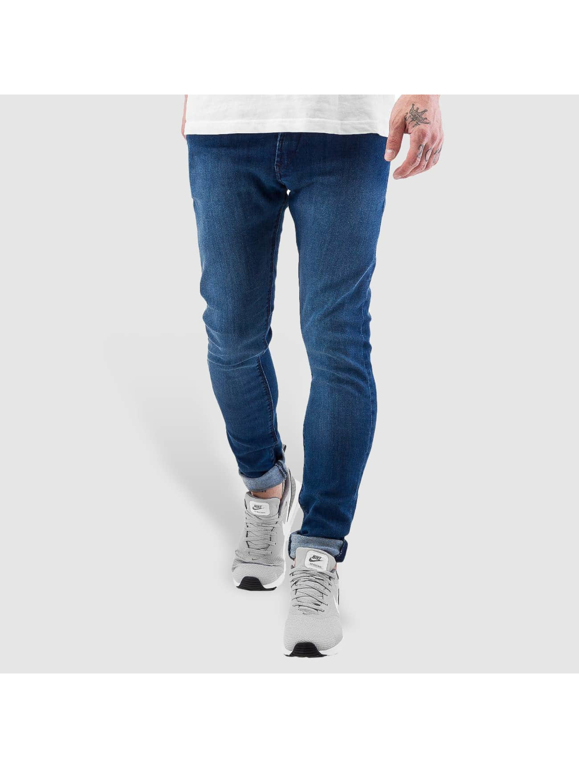 Reell Jeans Männer Skinny Jeans Radar Stretch Super Slim Fit in blau