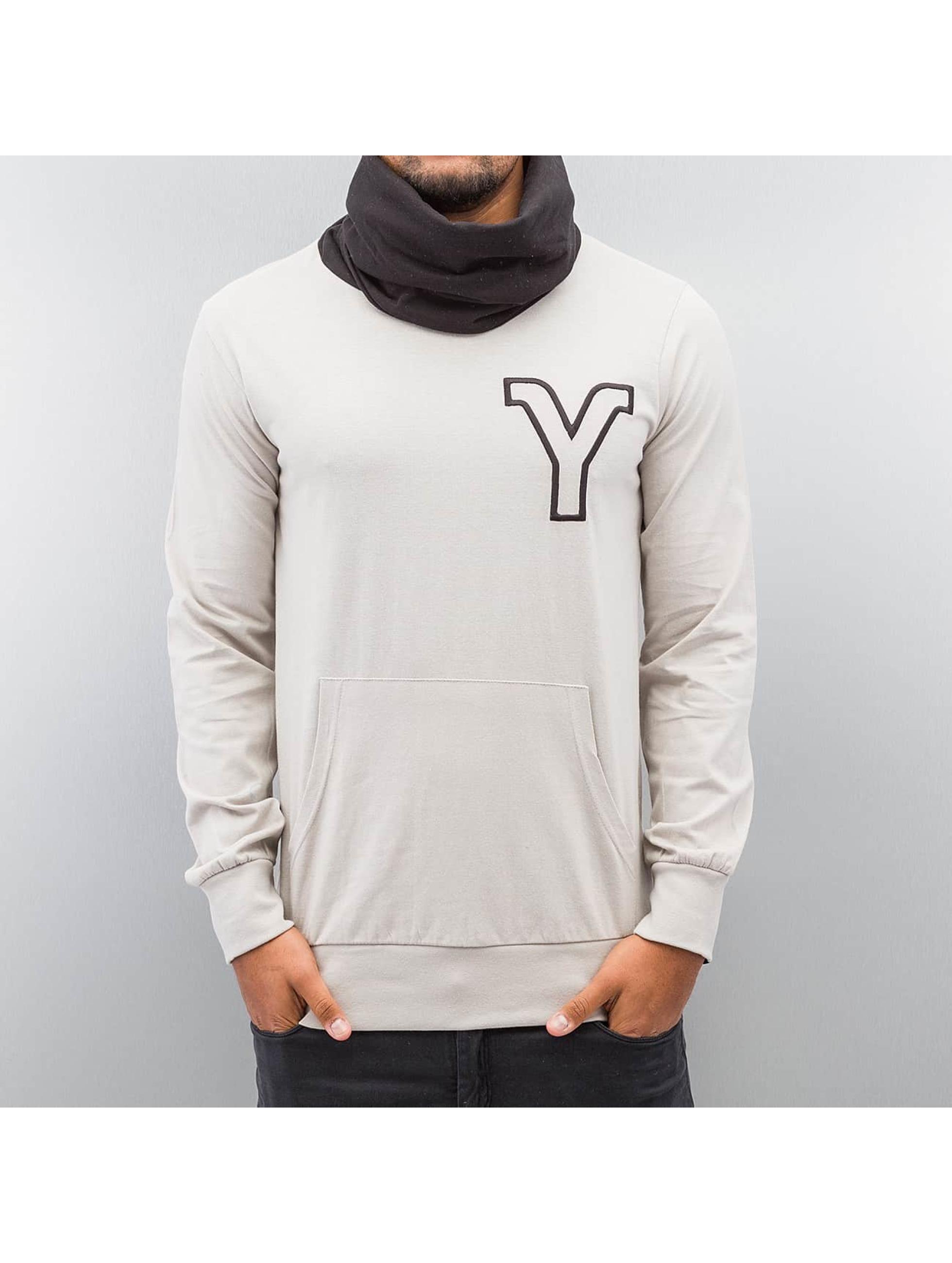 Yezz Männer Pullover Tempest Slim Fit in grau