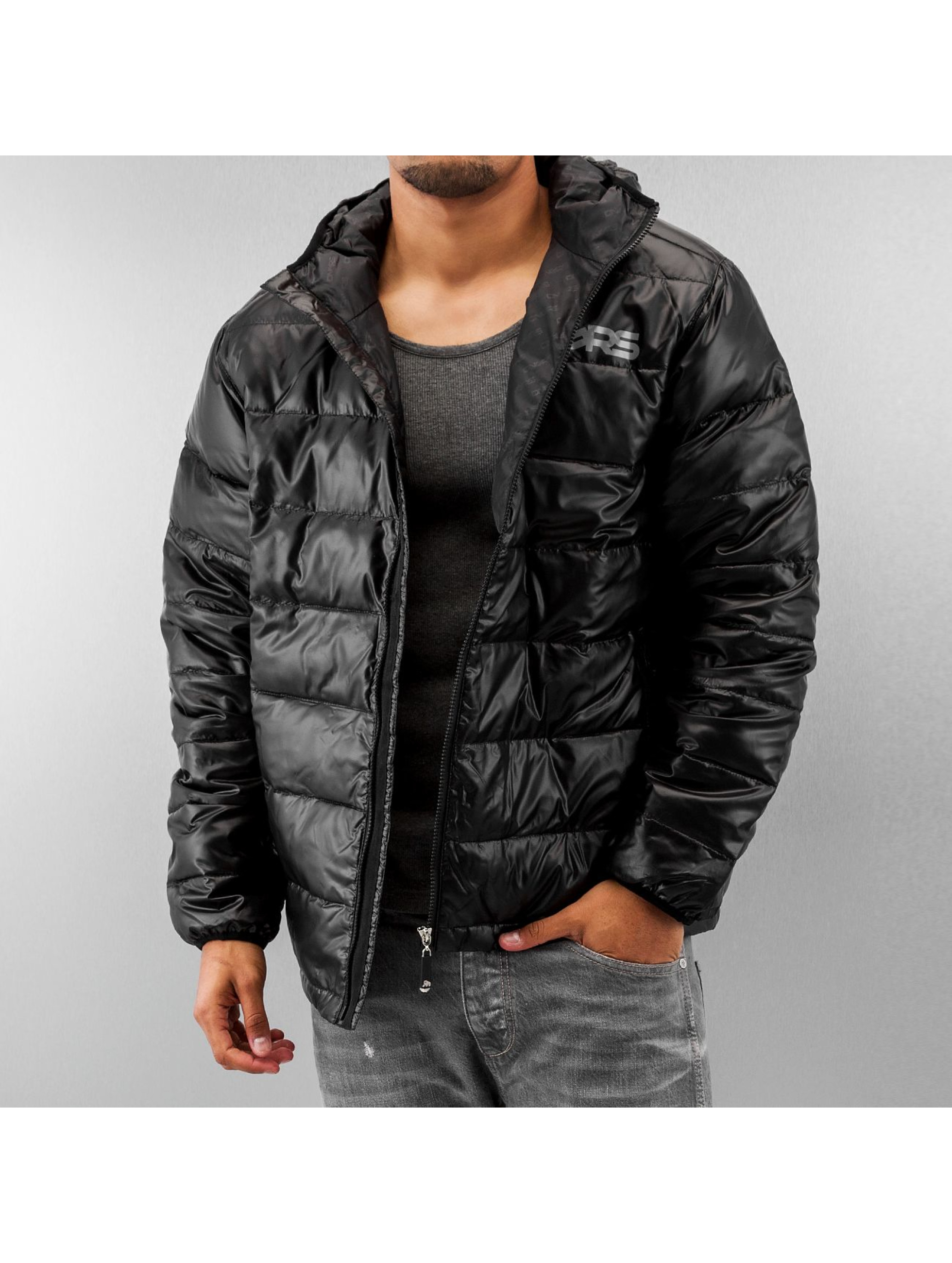 Dangerous DNGRS Blend Premium Down Windbreaker Jet Black