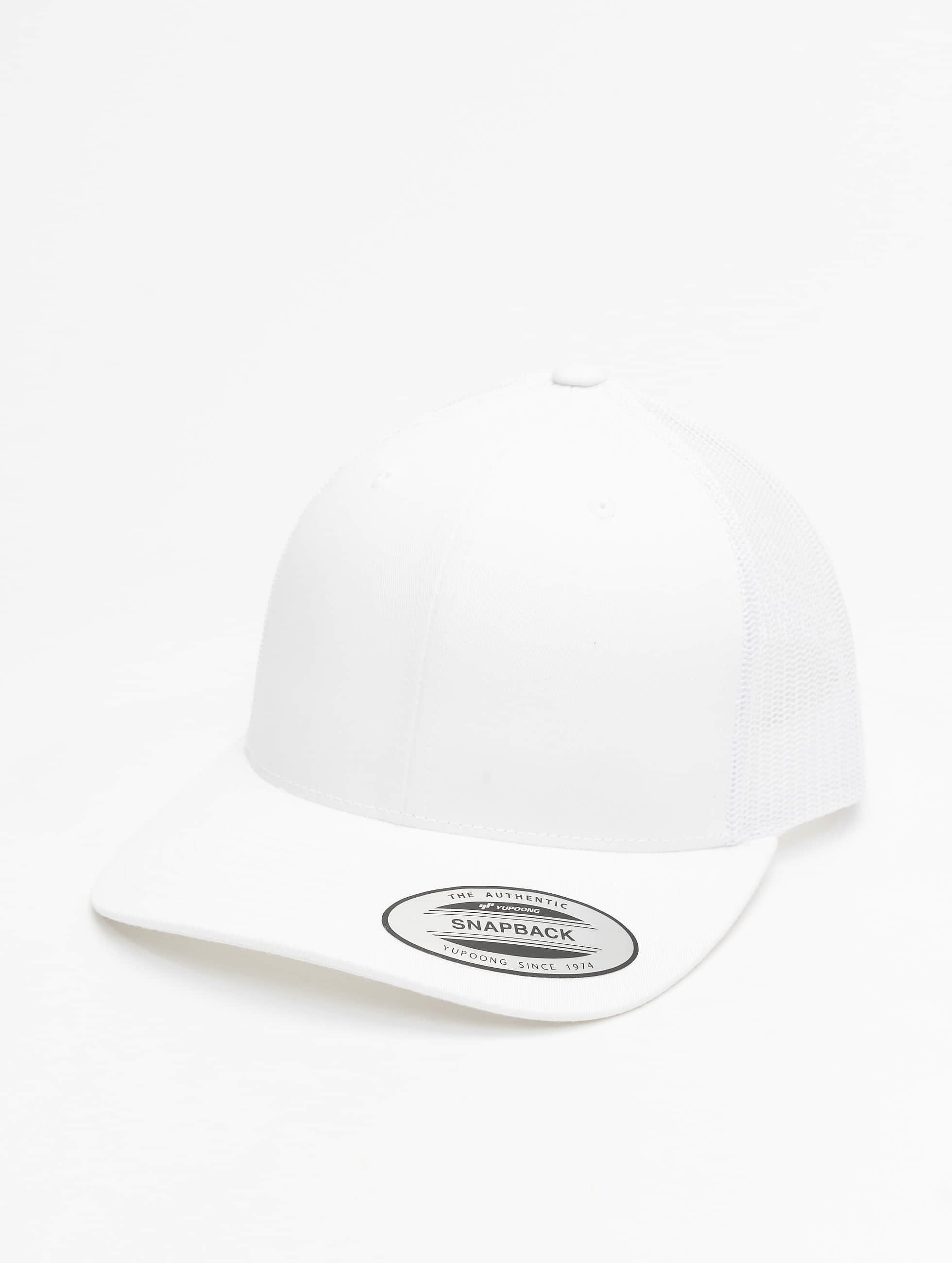 Flexfit / Trucker Cap Retro in white