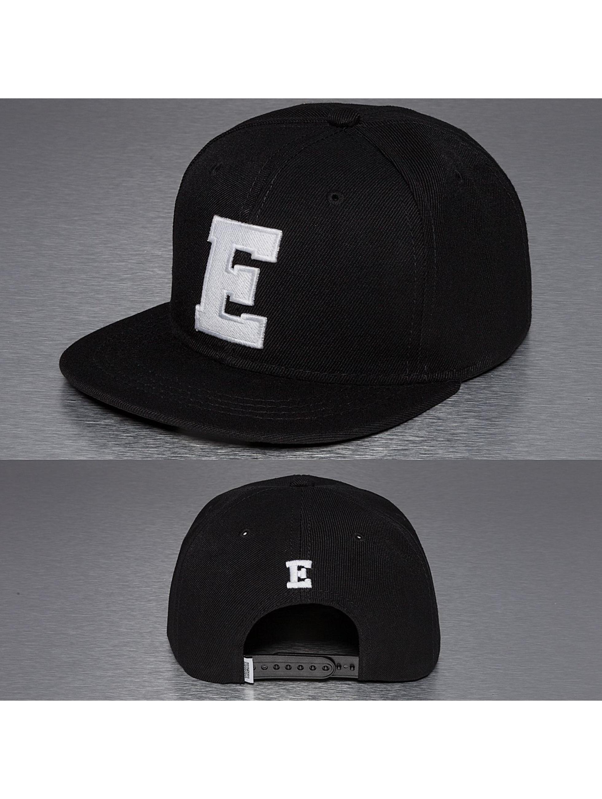 TrueSpin Männer,Frauen Snapback Cap E-ABC in schwarz