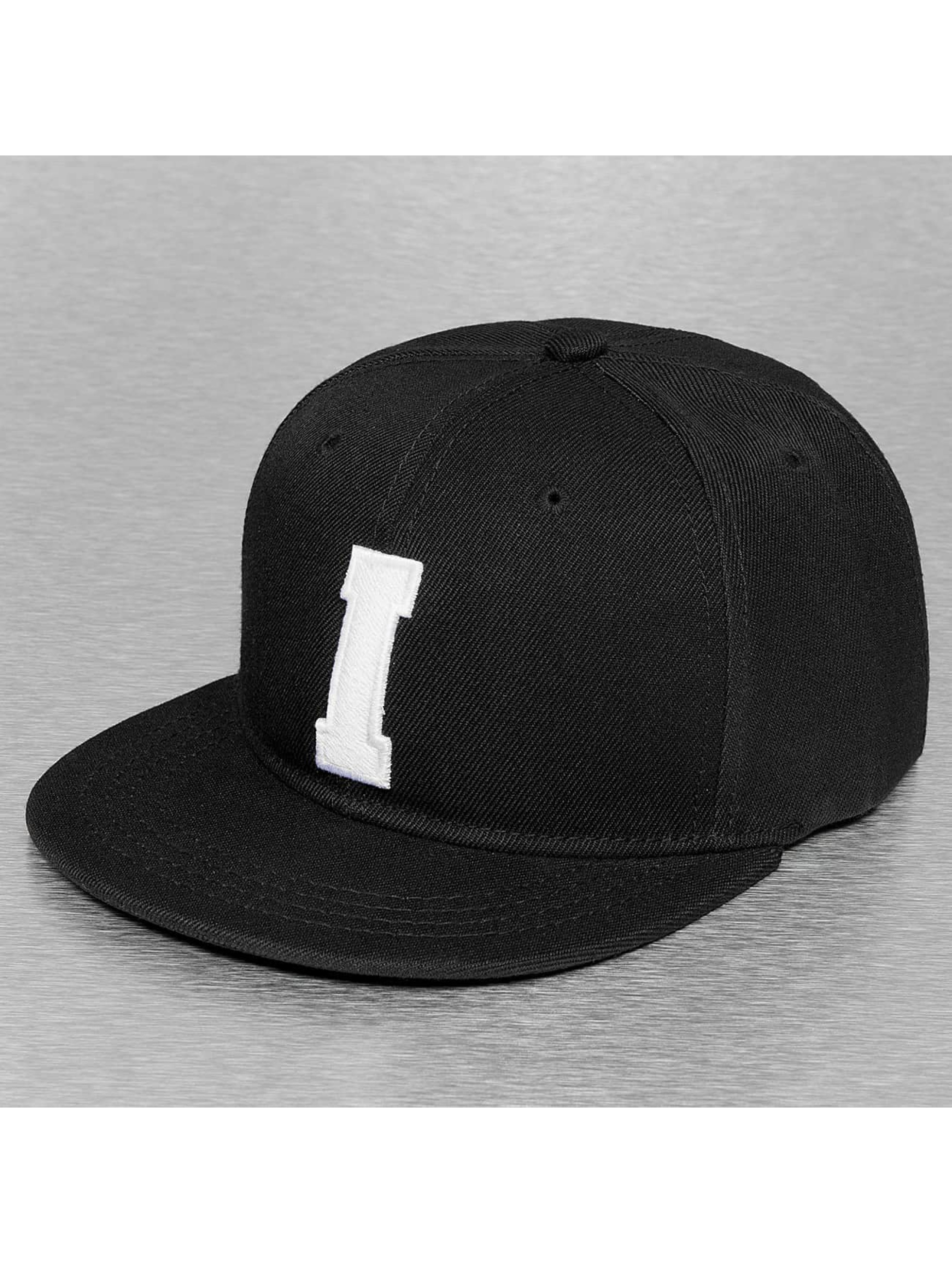 TrueSpin Männer,Frauen Snapback Cap I-ABC Edition in schwarz