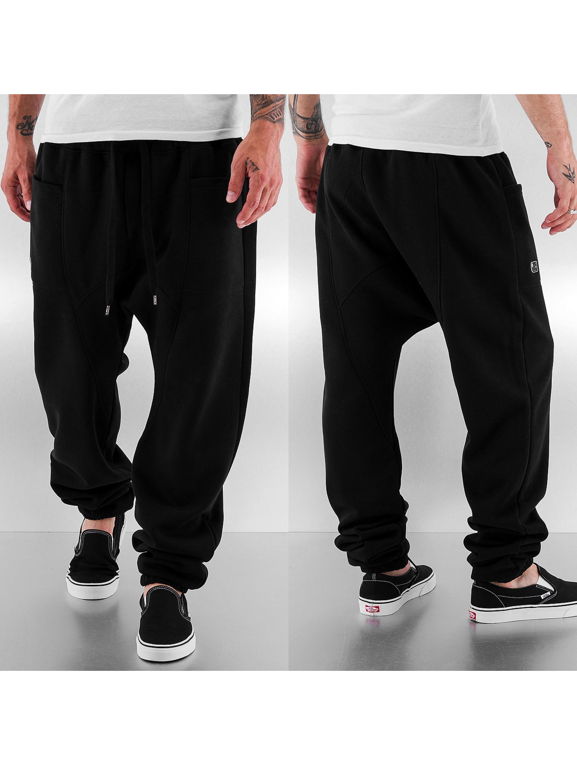 Just Rhyse Gun Sweat Pants Black