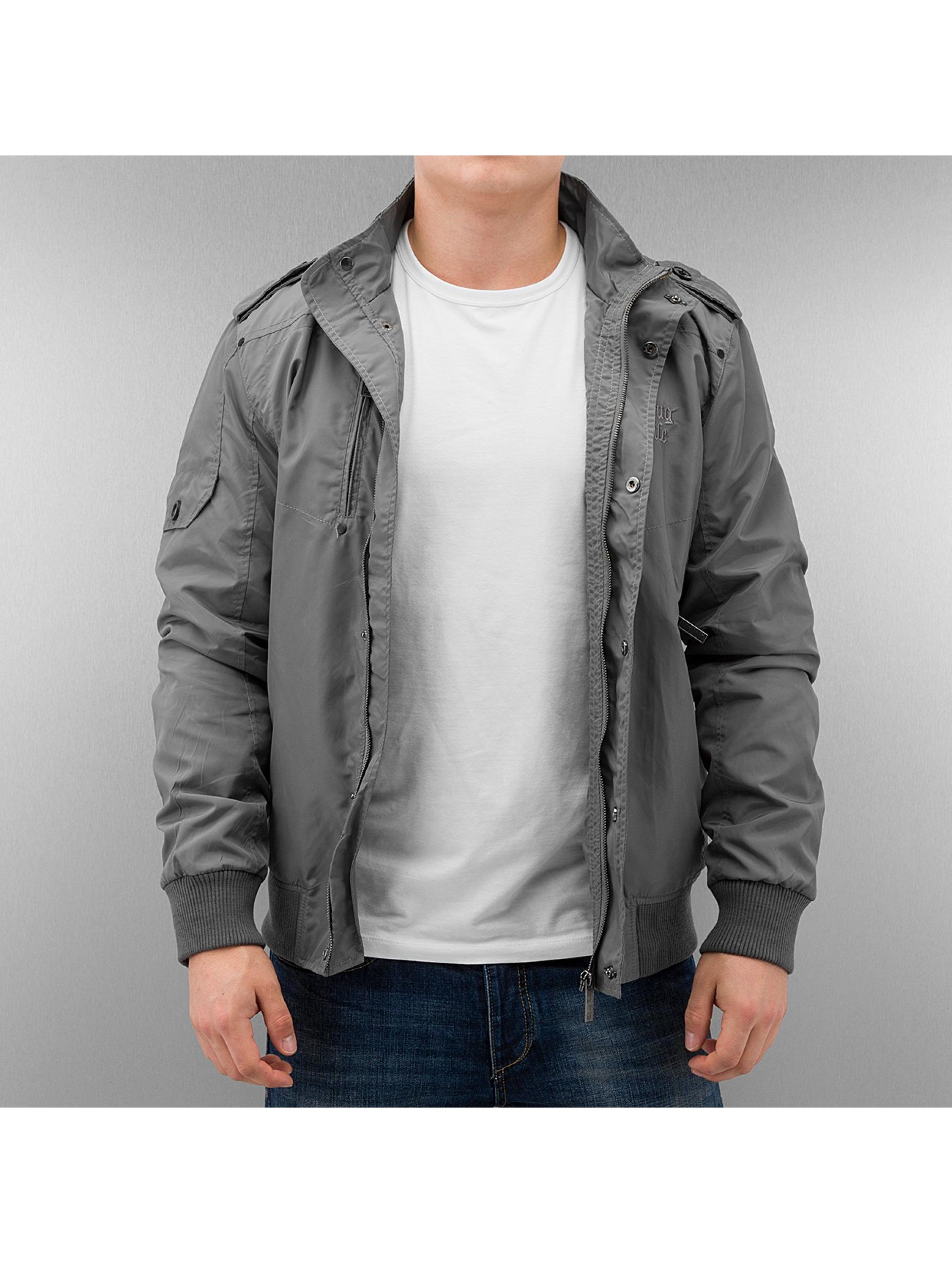 Thug Life Bomber Jacket Grey