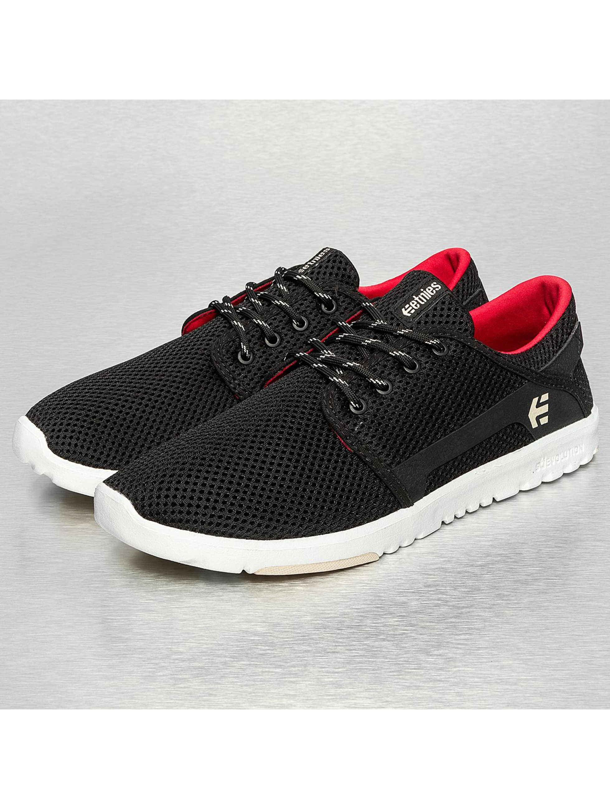 Etnies Männer Sneaker Scout Low Top Sneakers in schwarz