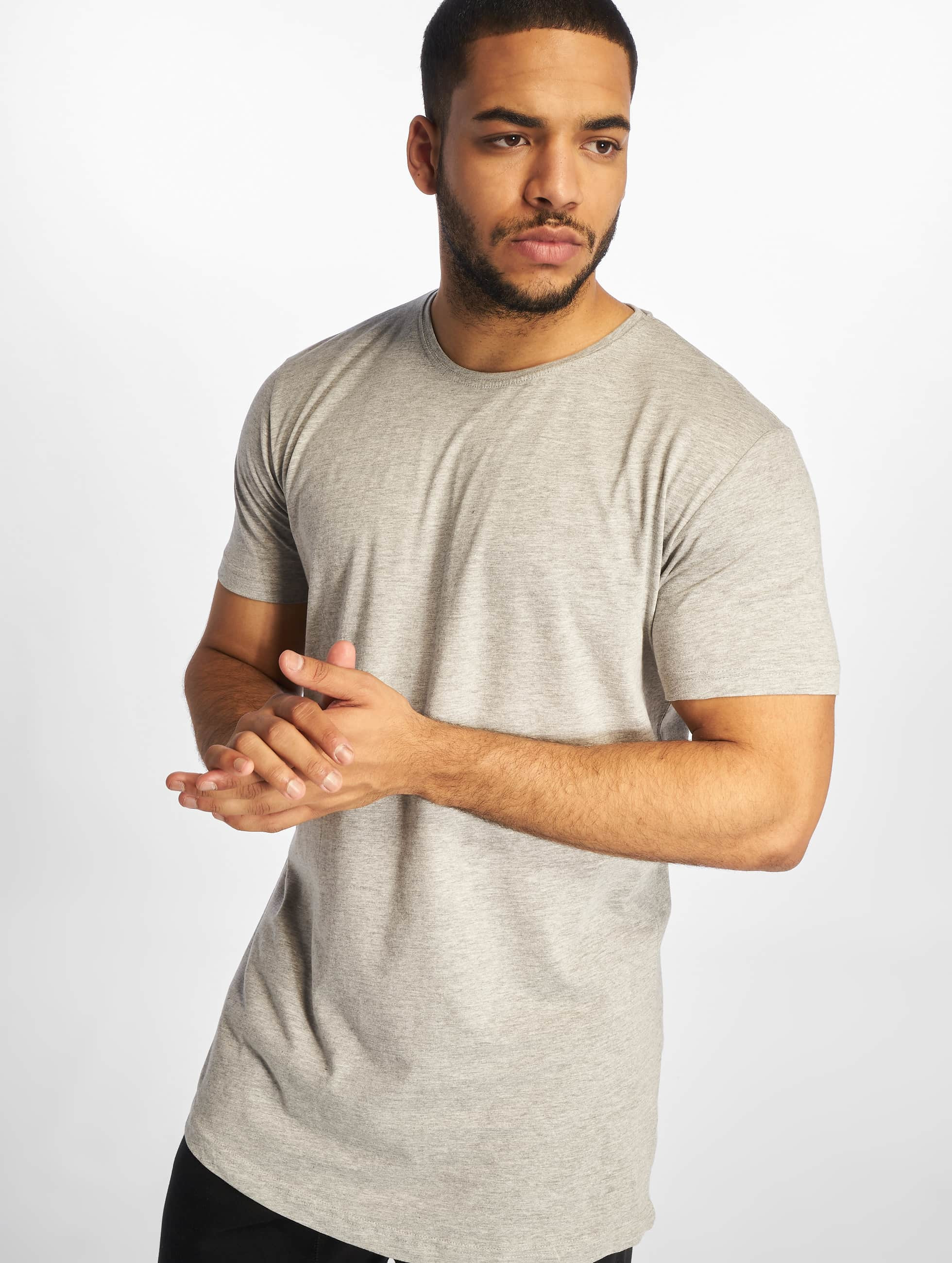 Urban Classics Männer Tall Tees Shaped Long in grau