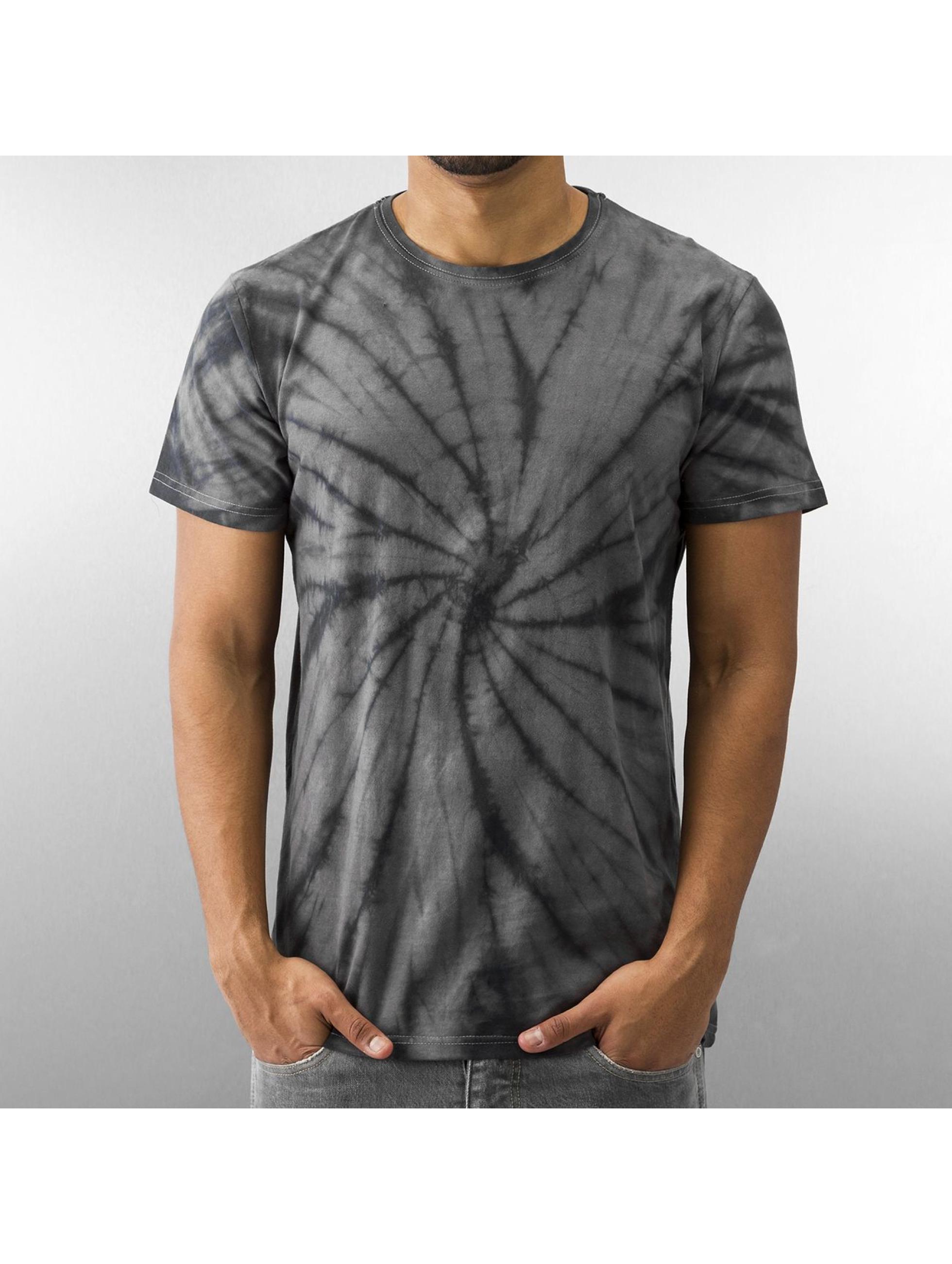 Urban Classics Batik T Shirt Dark Grey Black