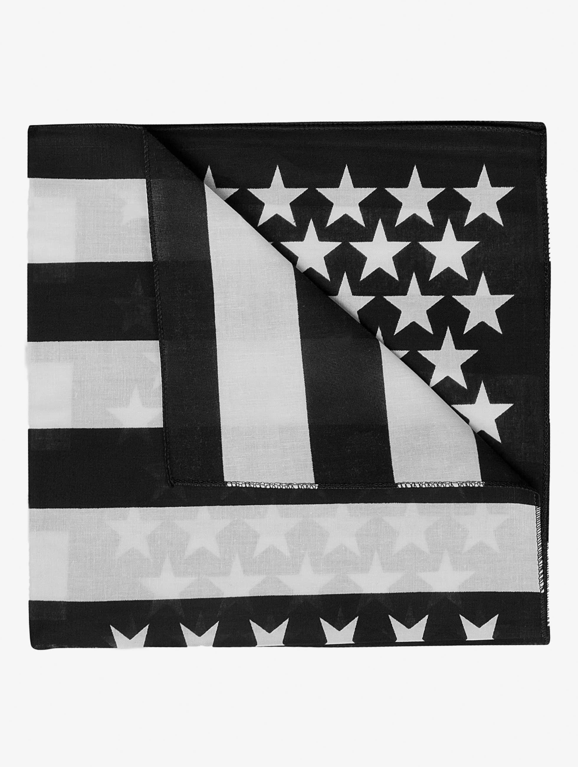 MSTRDS Männer,Frauen Bandana Stars & Stripes in schwarz