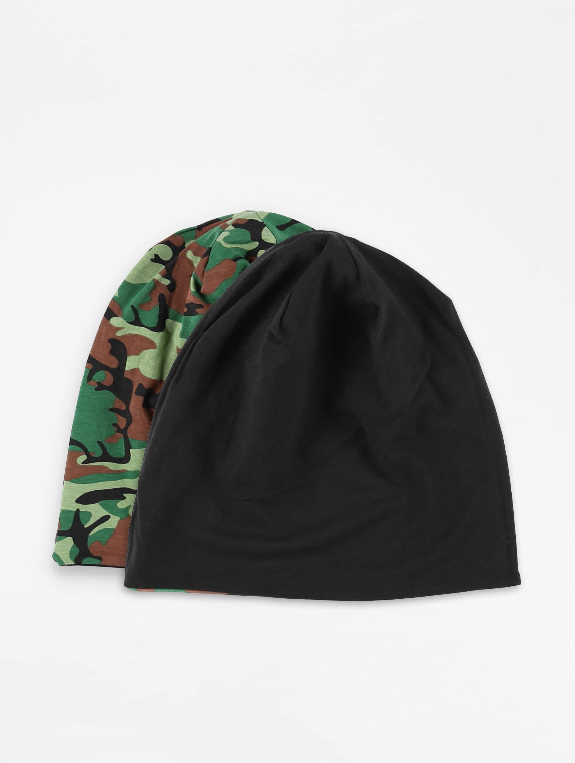 MSTRDS Männer,Frauen Beanie Printed Jersey in camouflage