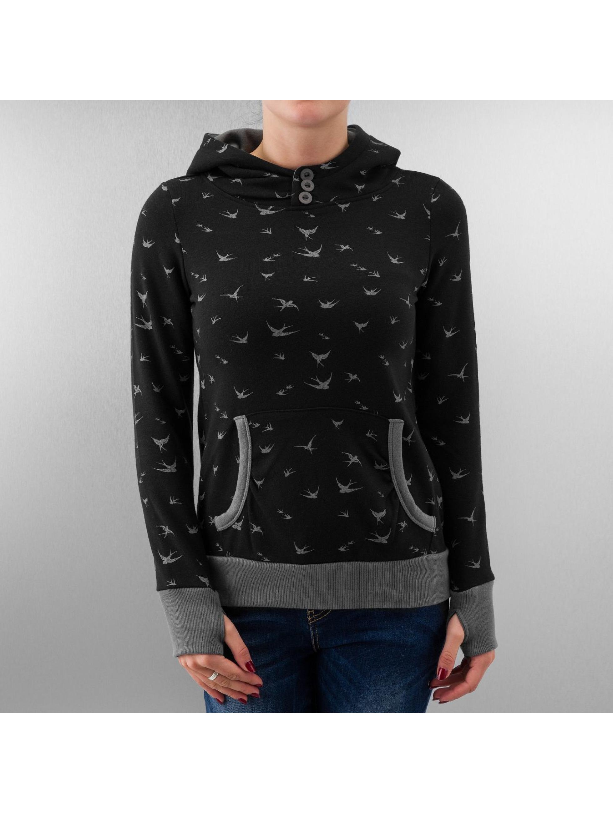 Urban Surface Frauen Hoody Swallow in schwarz