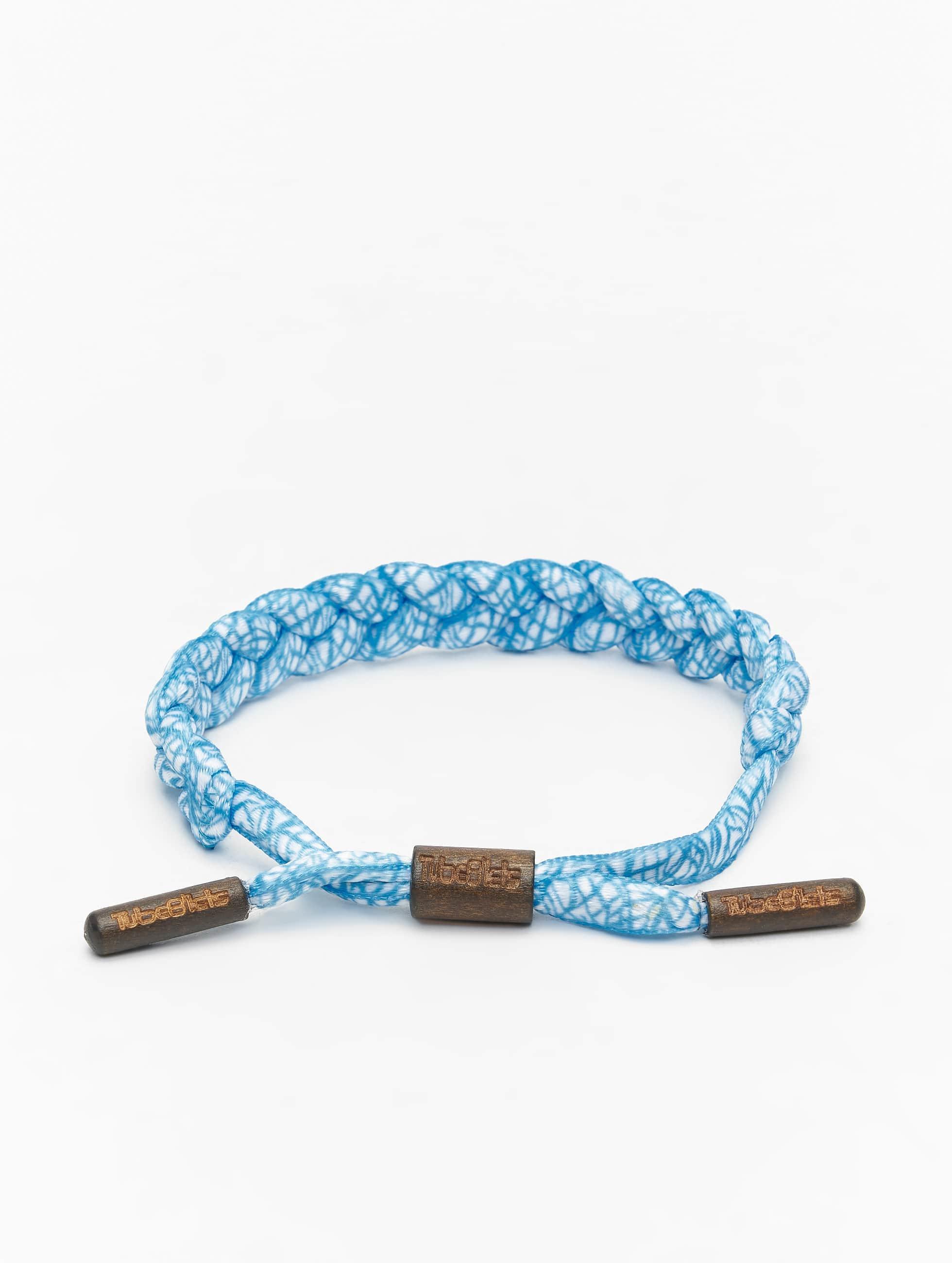 Tubelaces Männer,Frauen Armband TubeBlet in blau