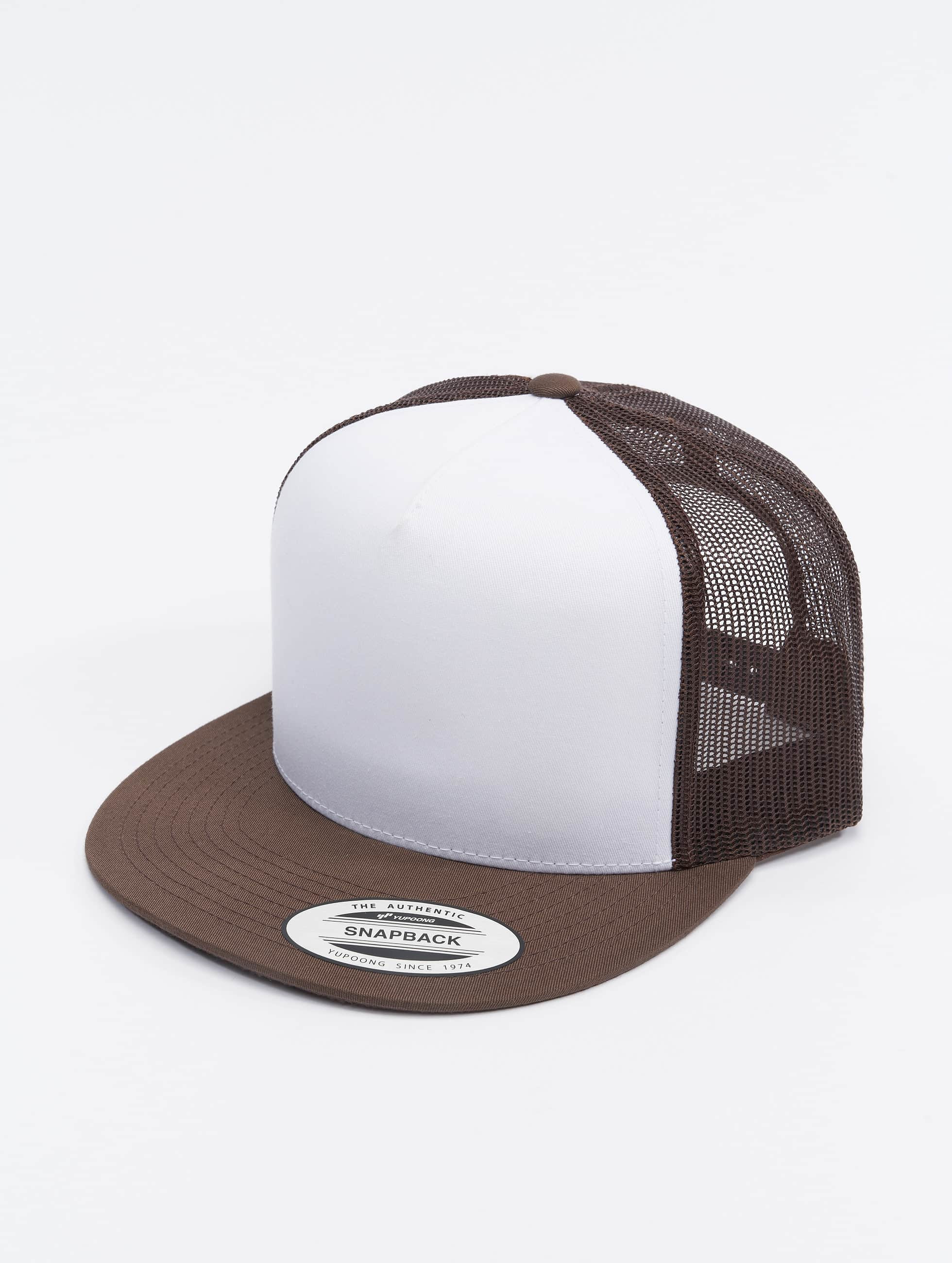 Flexfit / Trucker Cap Classic in brown
