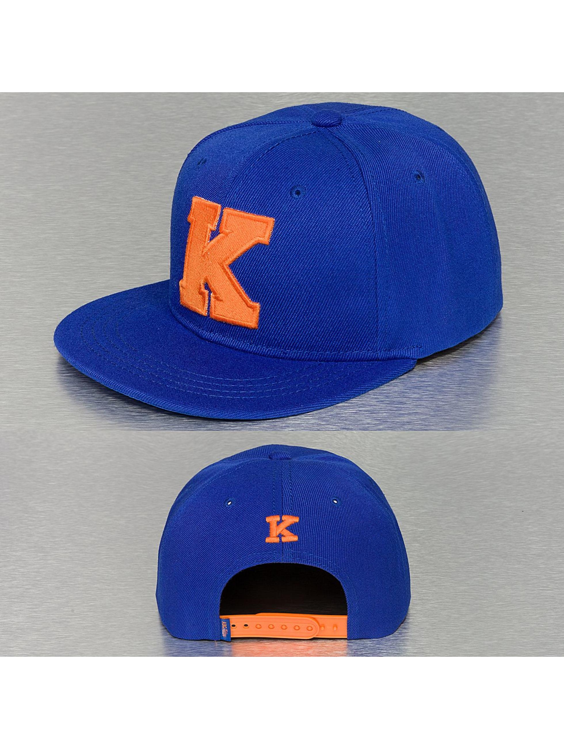 TrueSpin Männer,Frauen Snapback Cap K-ABC Edition in blau