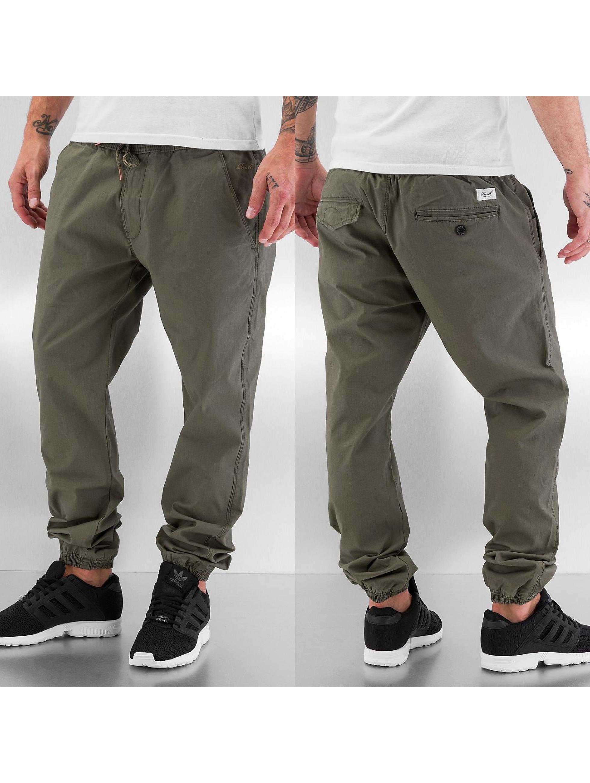 Reell Jeans Männer Jogginghose Reflex in grün