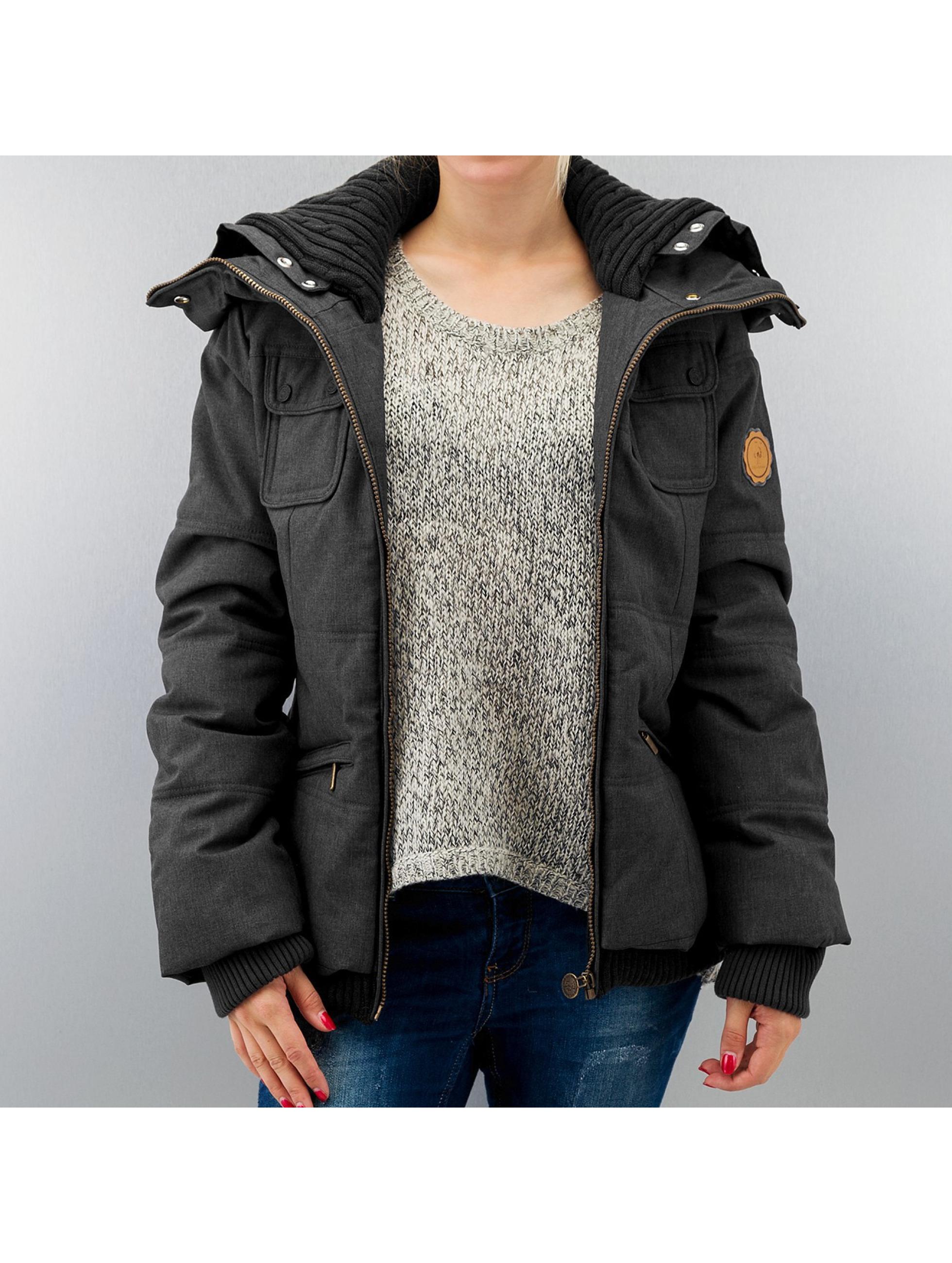 Alife & Famous Frauen Winterjacke Nelli in schwarz