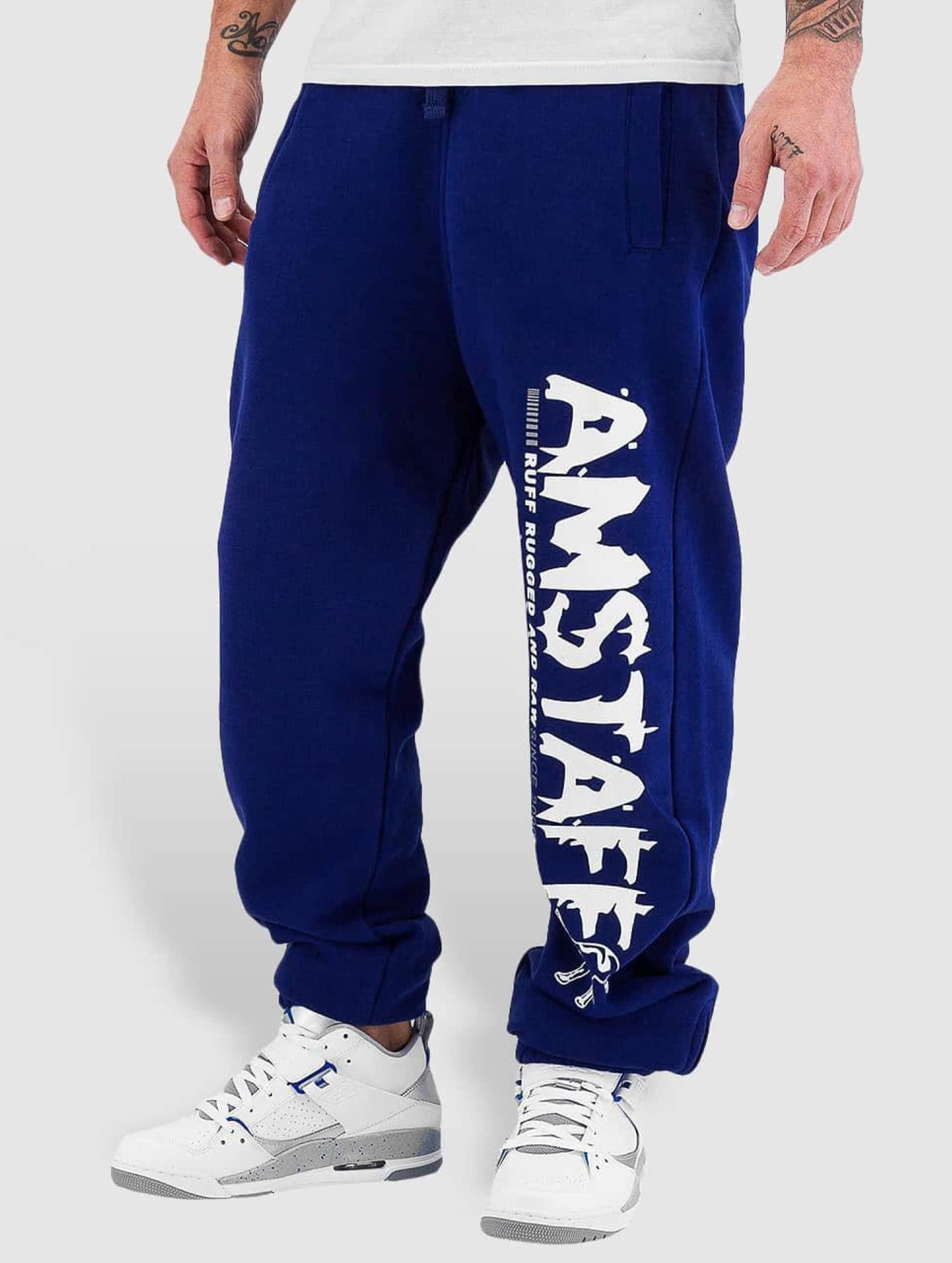Amstaff Männer Jogginghose Blade in blau
