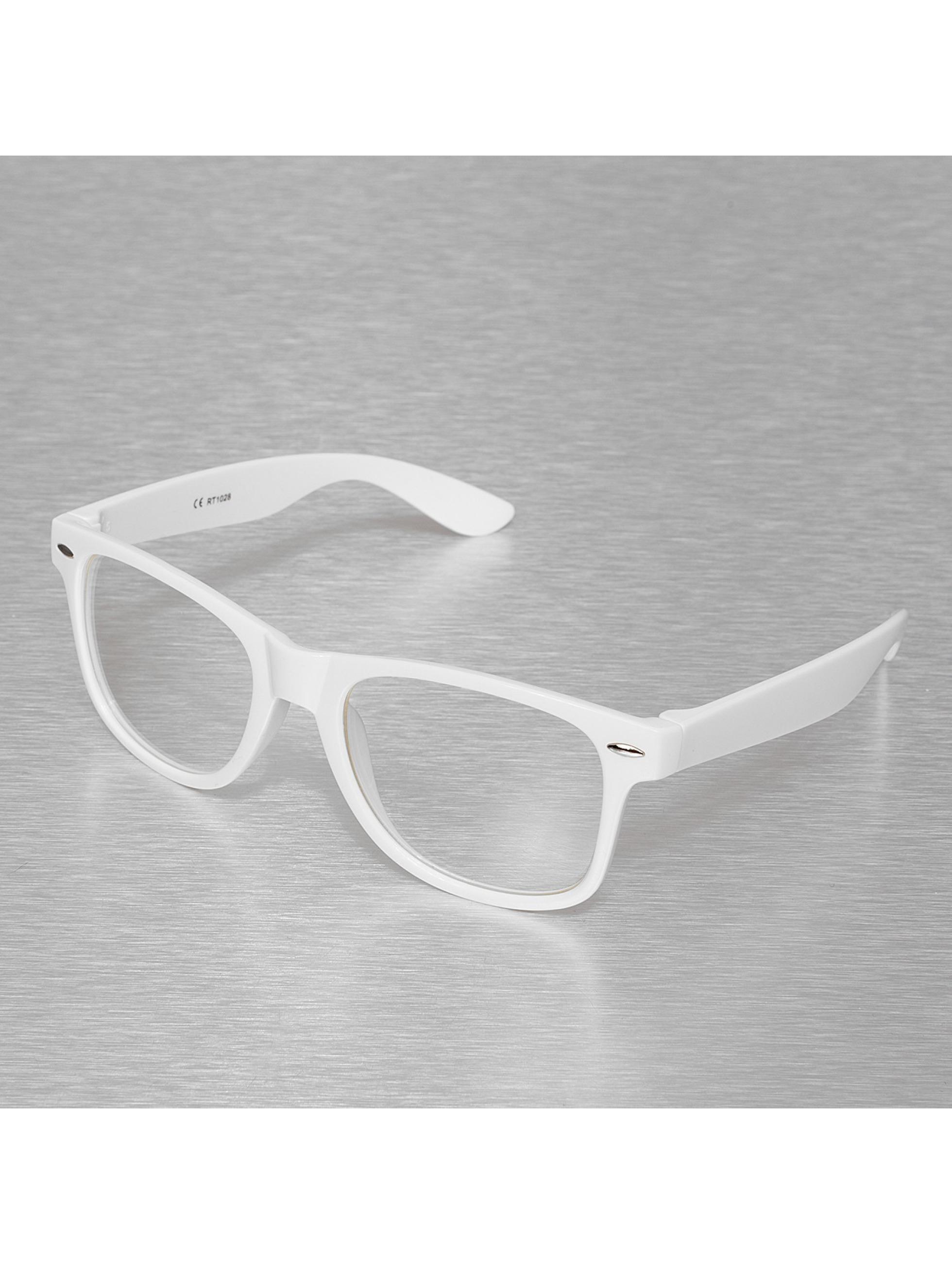 Miami Vision Männer,Frauen Sonnenbrille Vision in weiß
