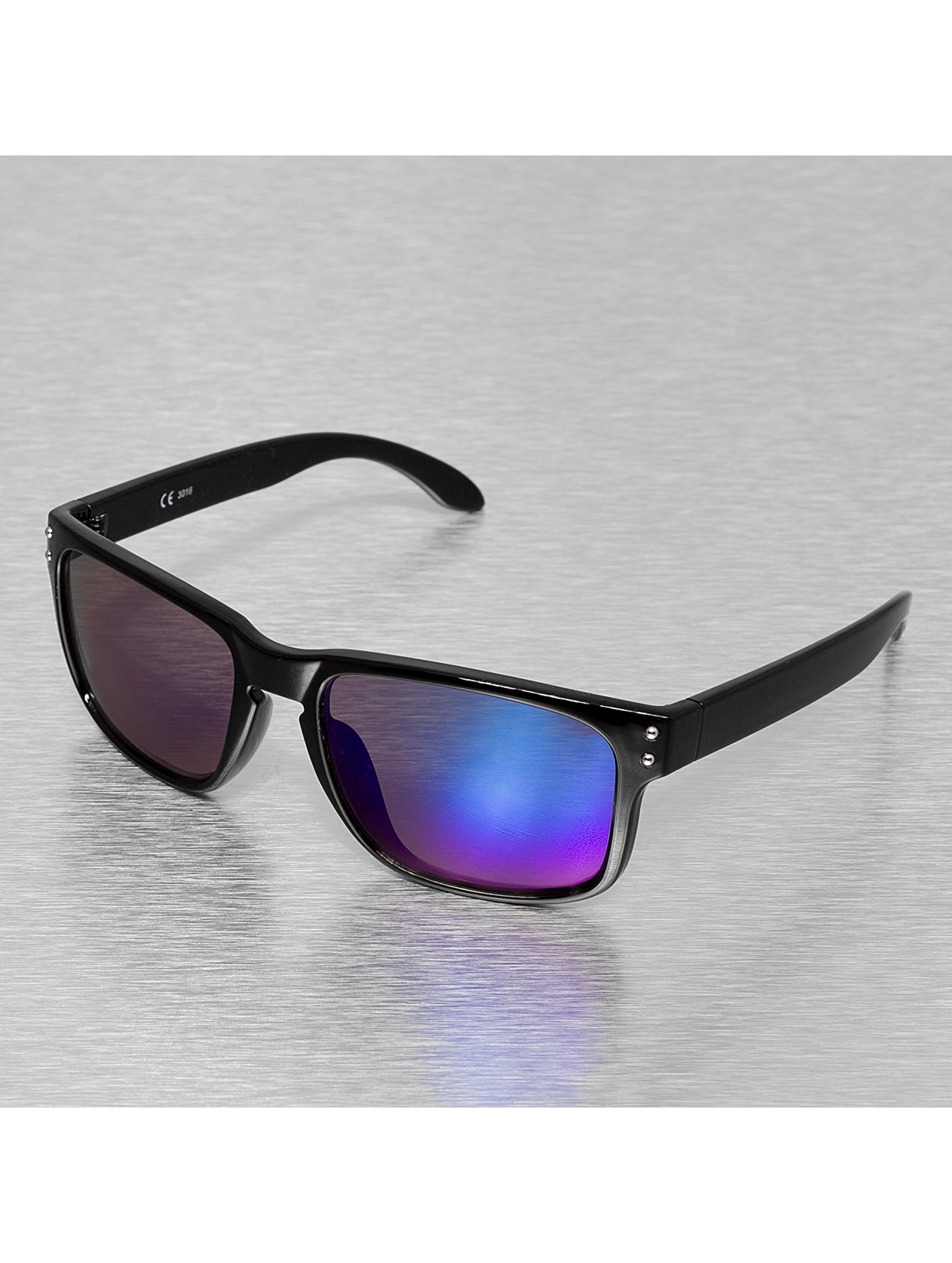 Miami Vision Männer,Frauen Sonnenbrille Vision in schwarz