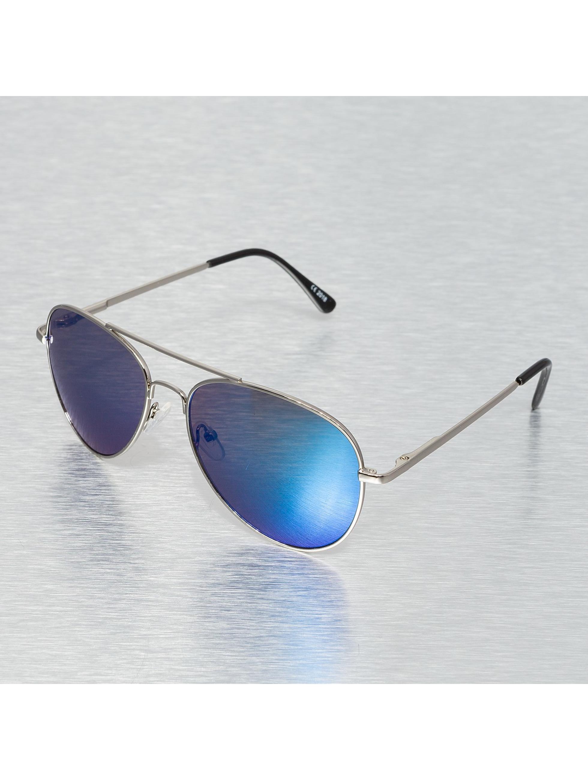 Miami Vision Männer,Frauen Sonnenbrille Vision in silberfarben