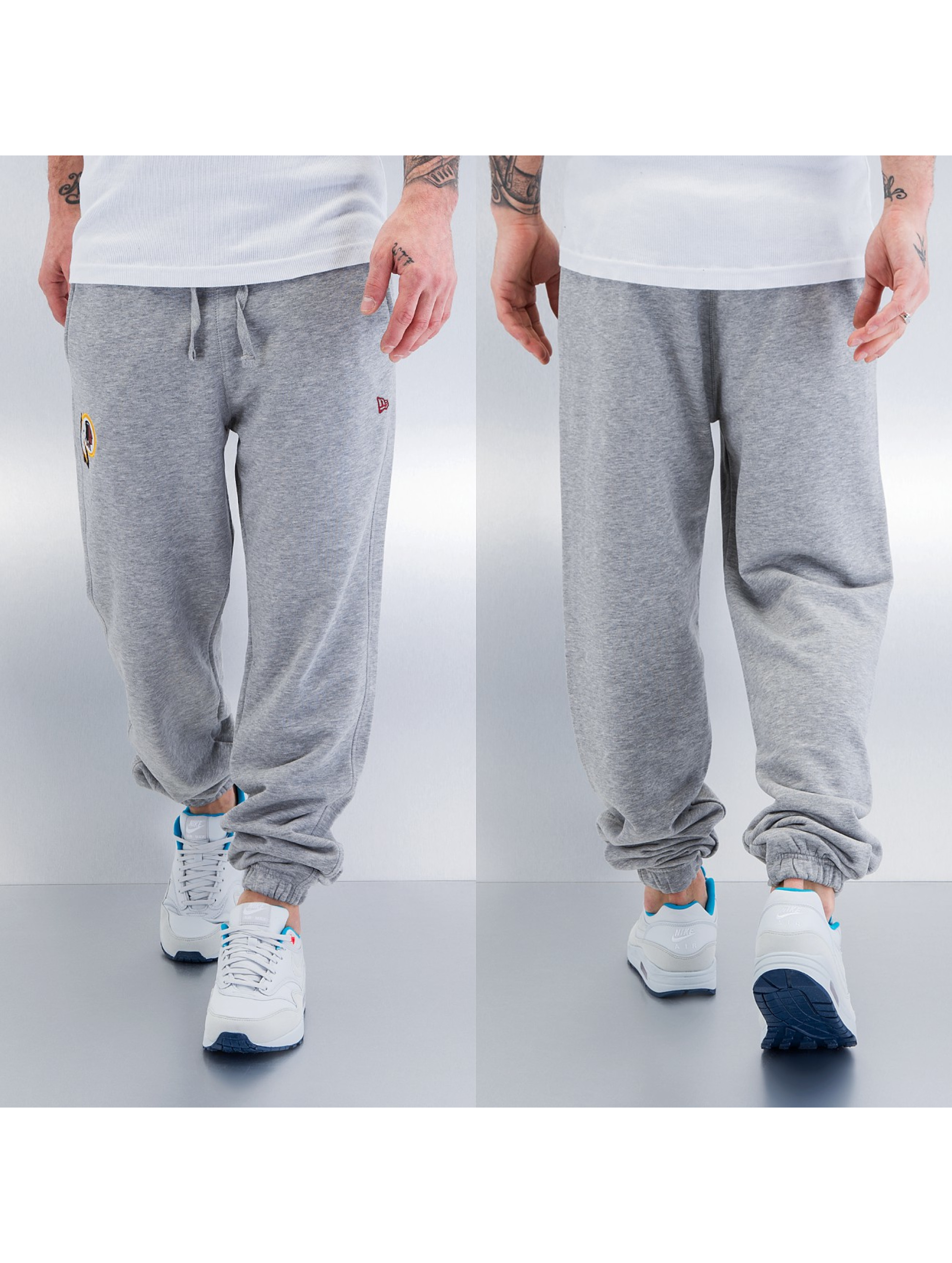 New Era Team Washington Redskins Track Pants Heather Grey