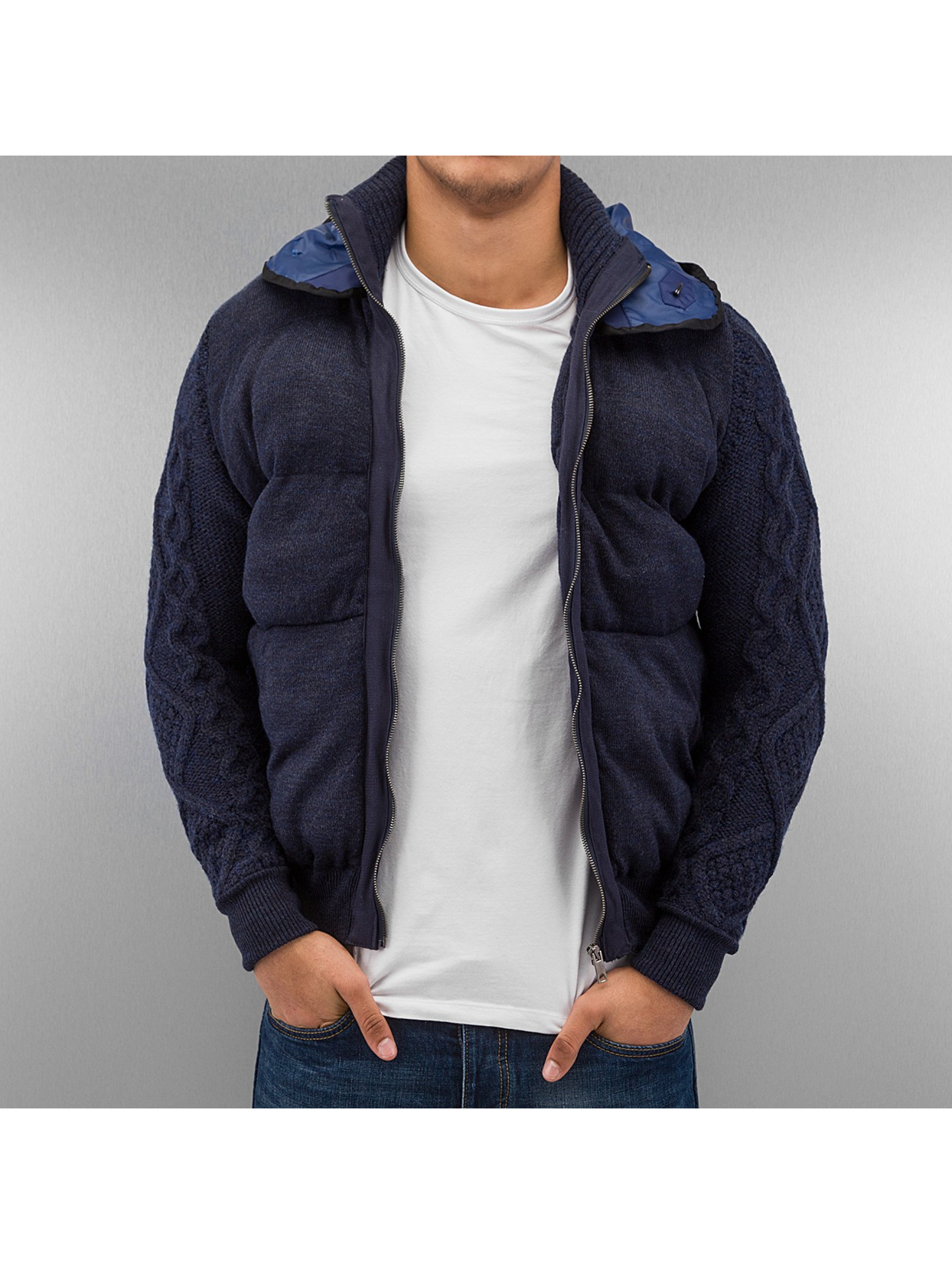 Just Rhyse / Lightweight Jacket Open in blue S
