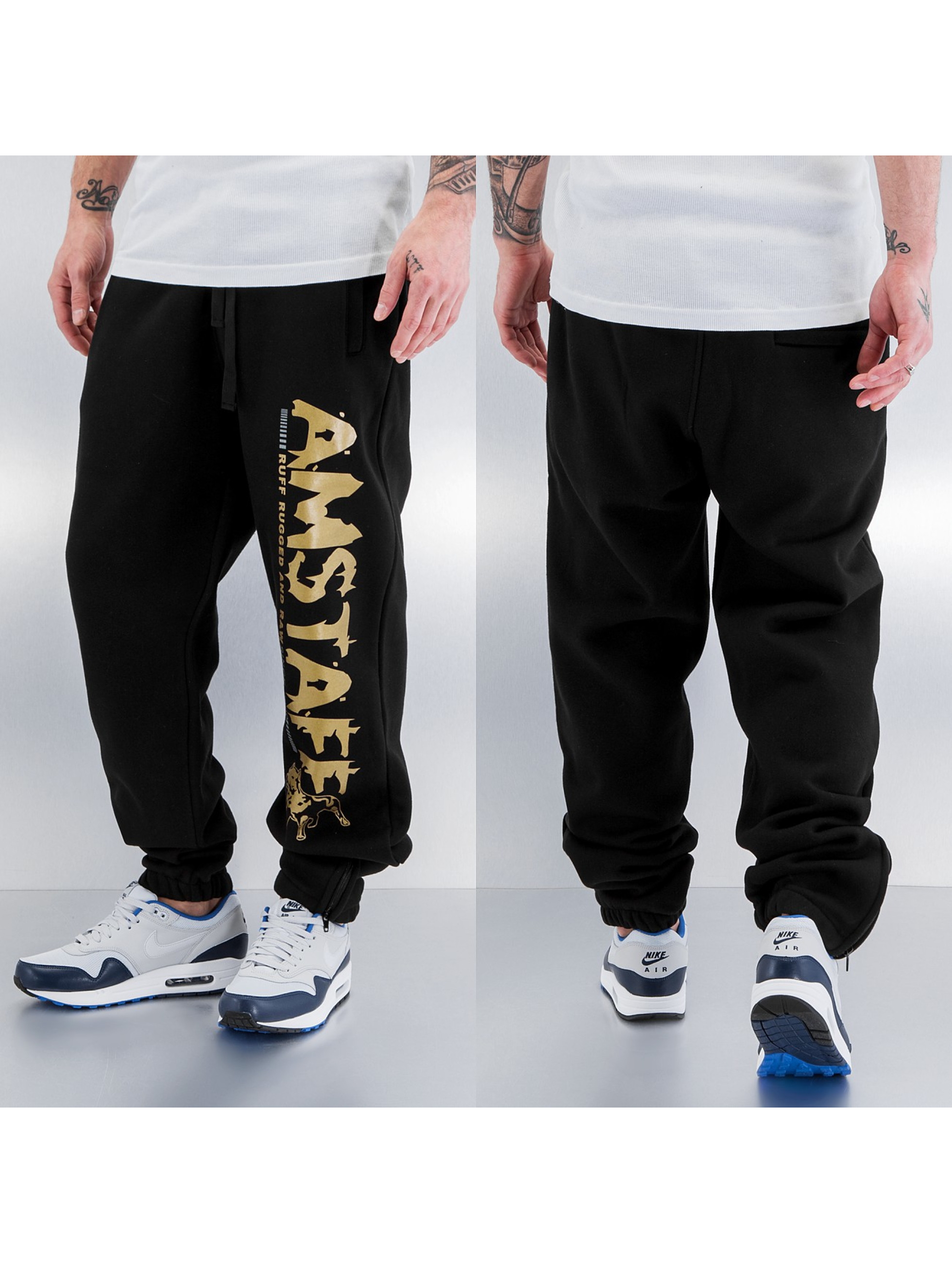 Amstaff Blade Sweat Pant Black