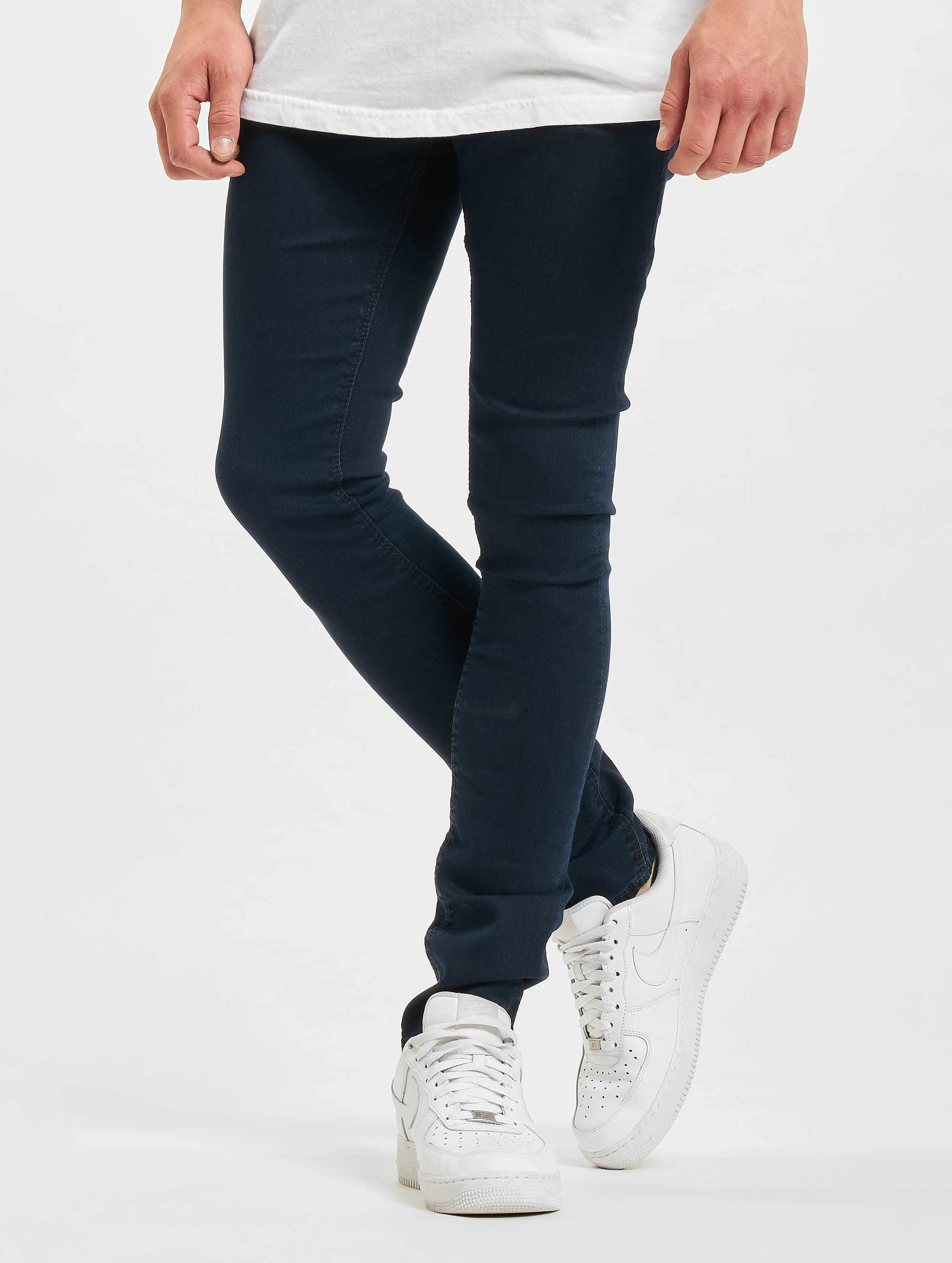 Reell Jeans Männer Skinny Jeans Radar Stretch Super in blau