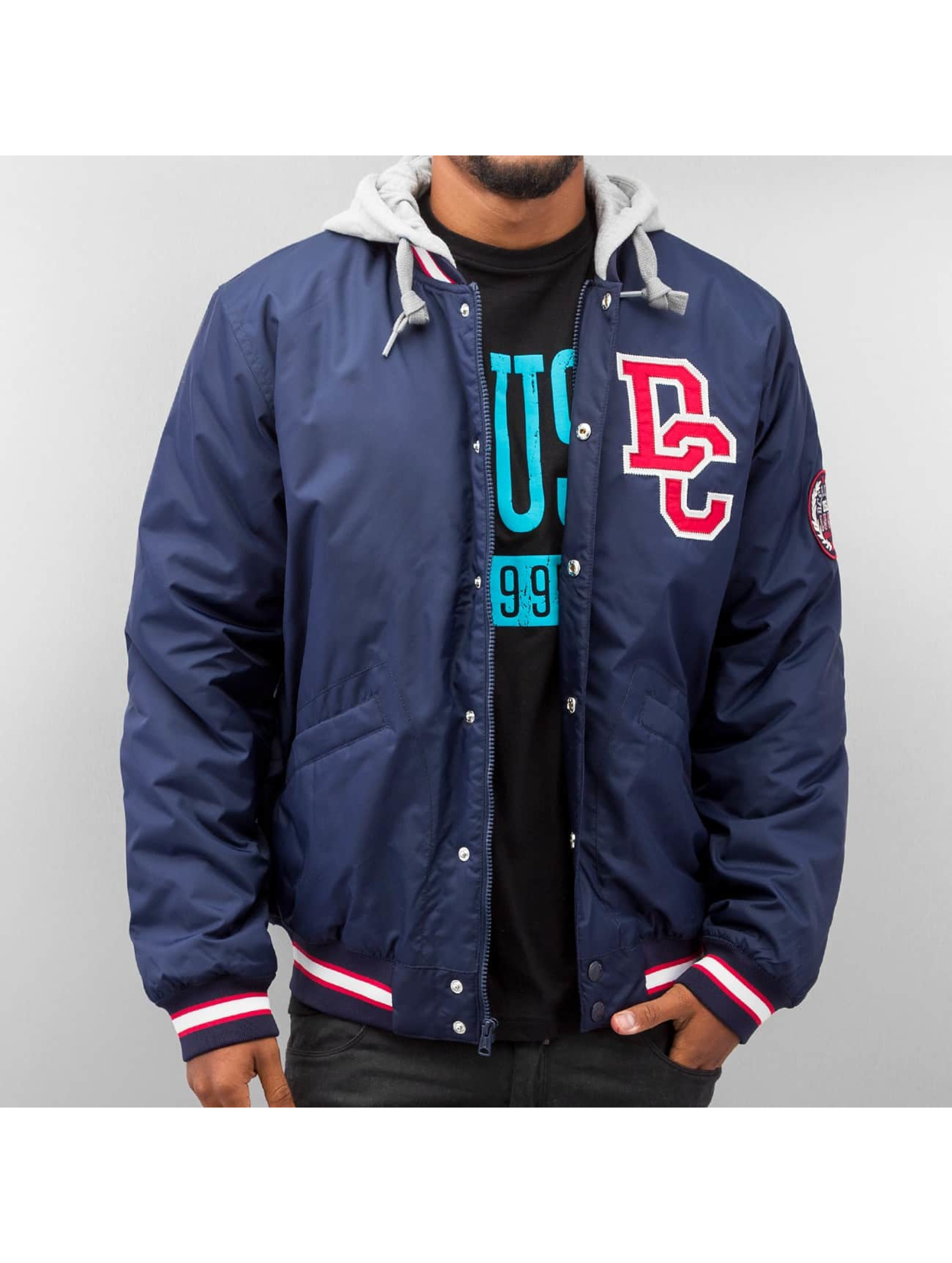 DC Colwood Collage Jacket Blue Iris