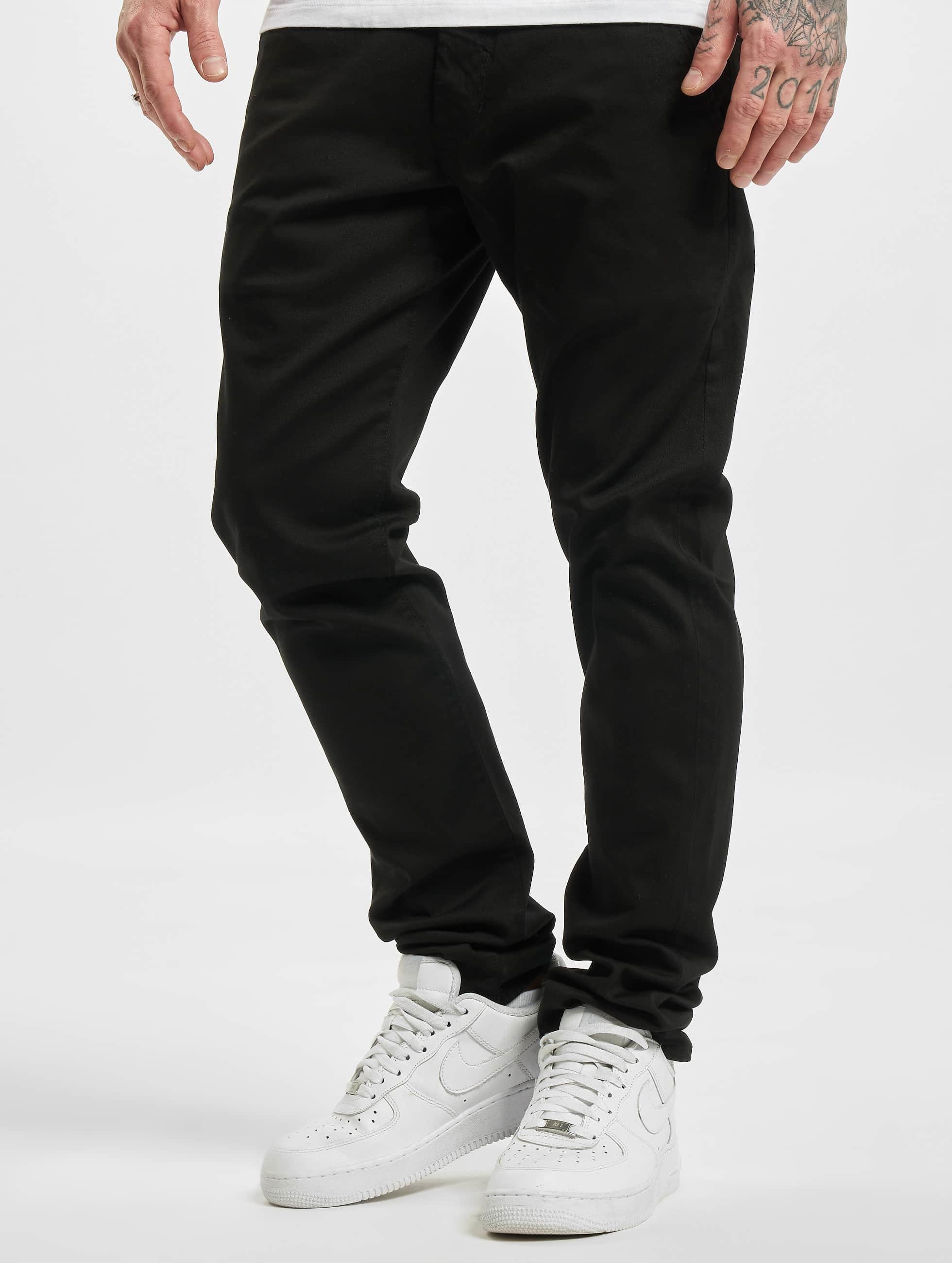 Reell Jeans Männer Chino Flex Tapered in schwarz