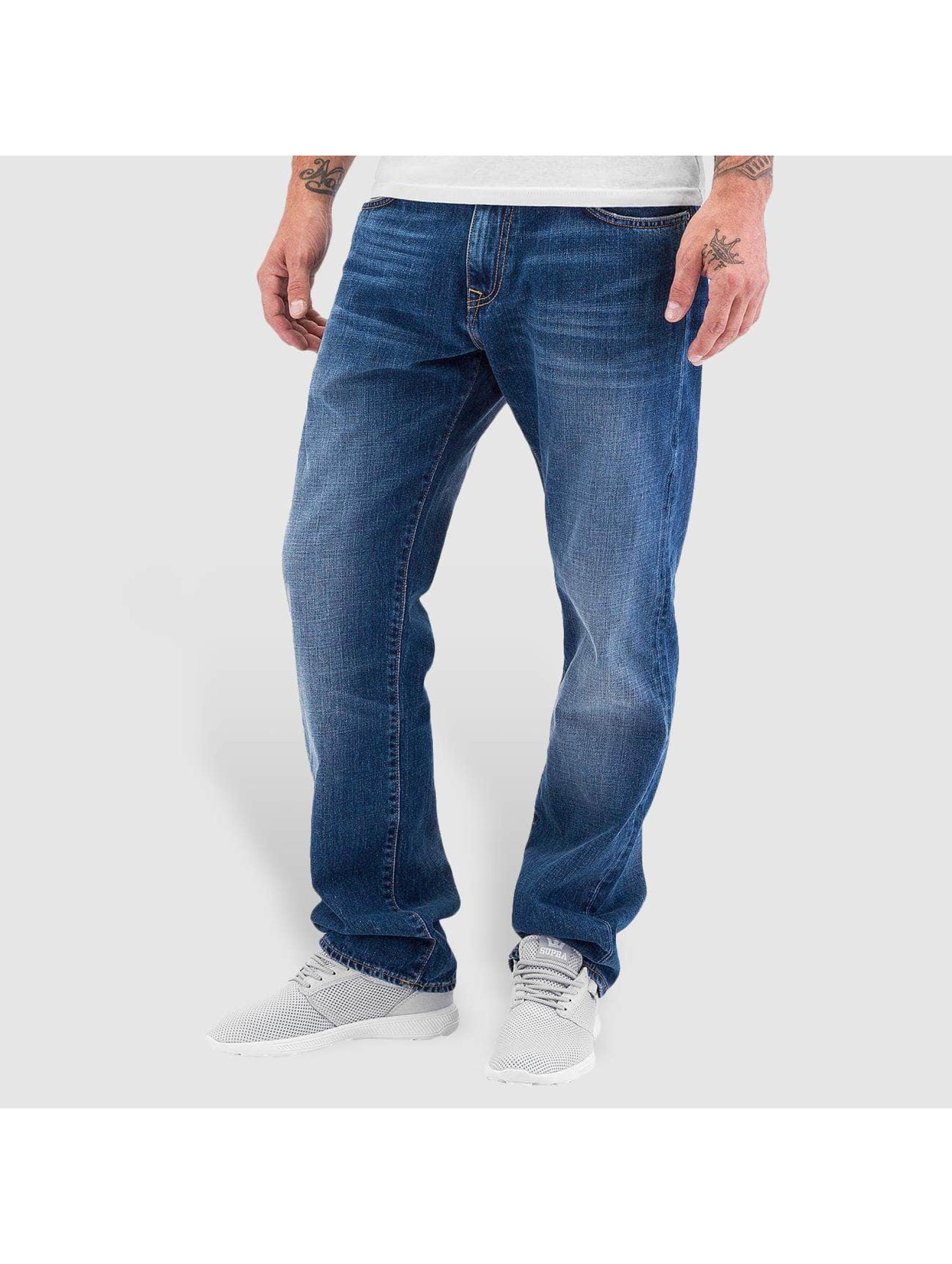 Carhartt WIP Männer Straight Fit Jeans Otero Davies in blau Sale Angebote Hermsdorf