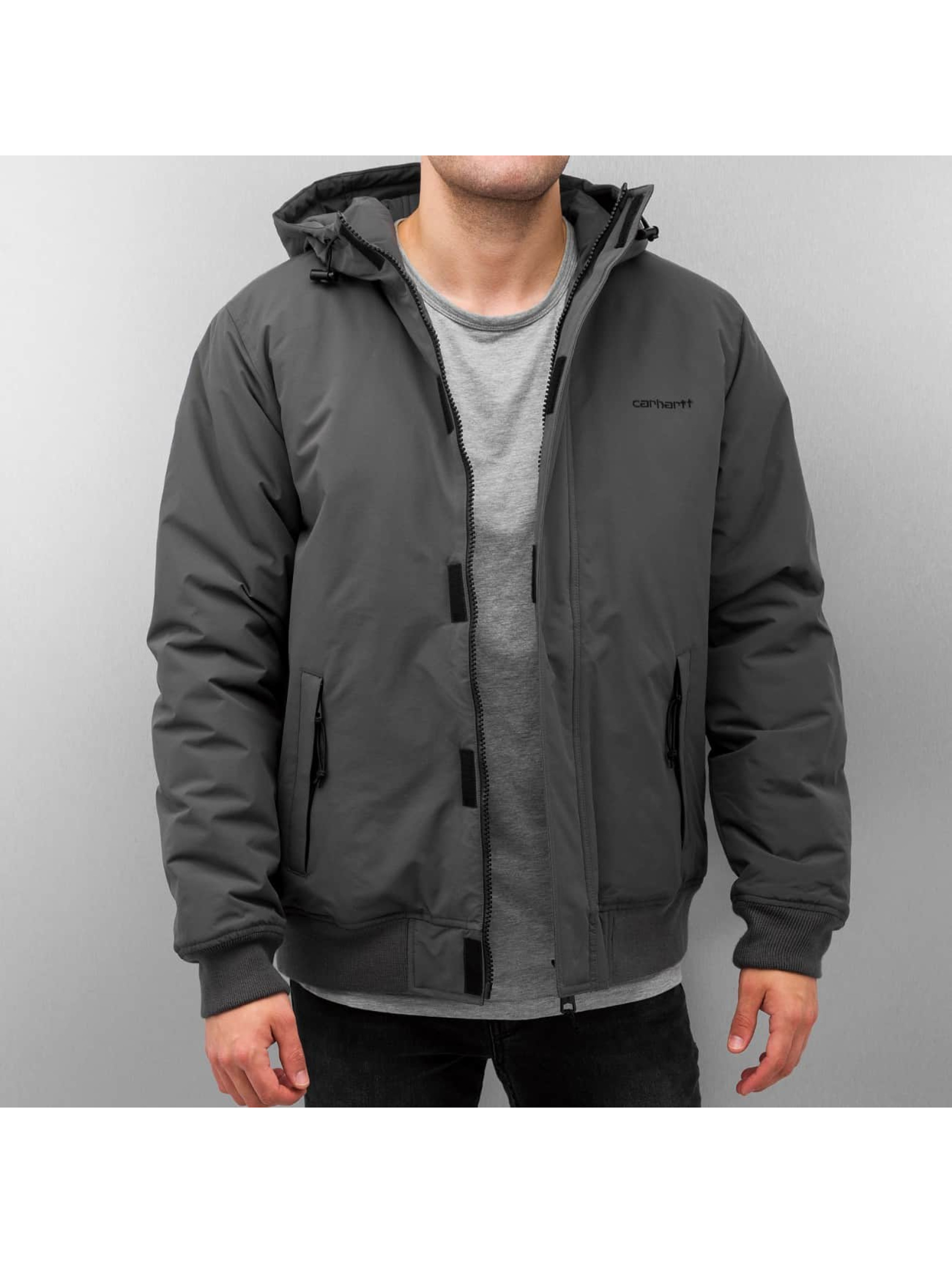 Carhartt WIP Kodiak Winter Jacket Blacksmith Black