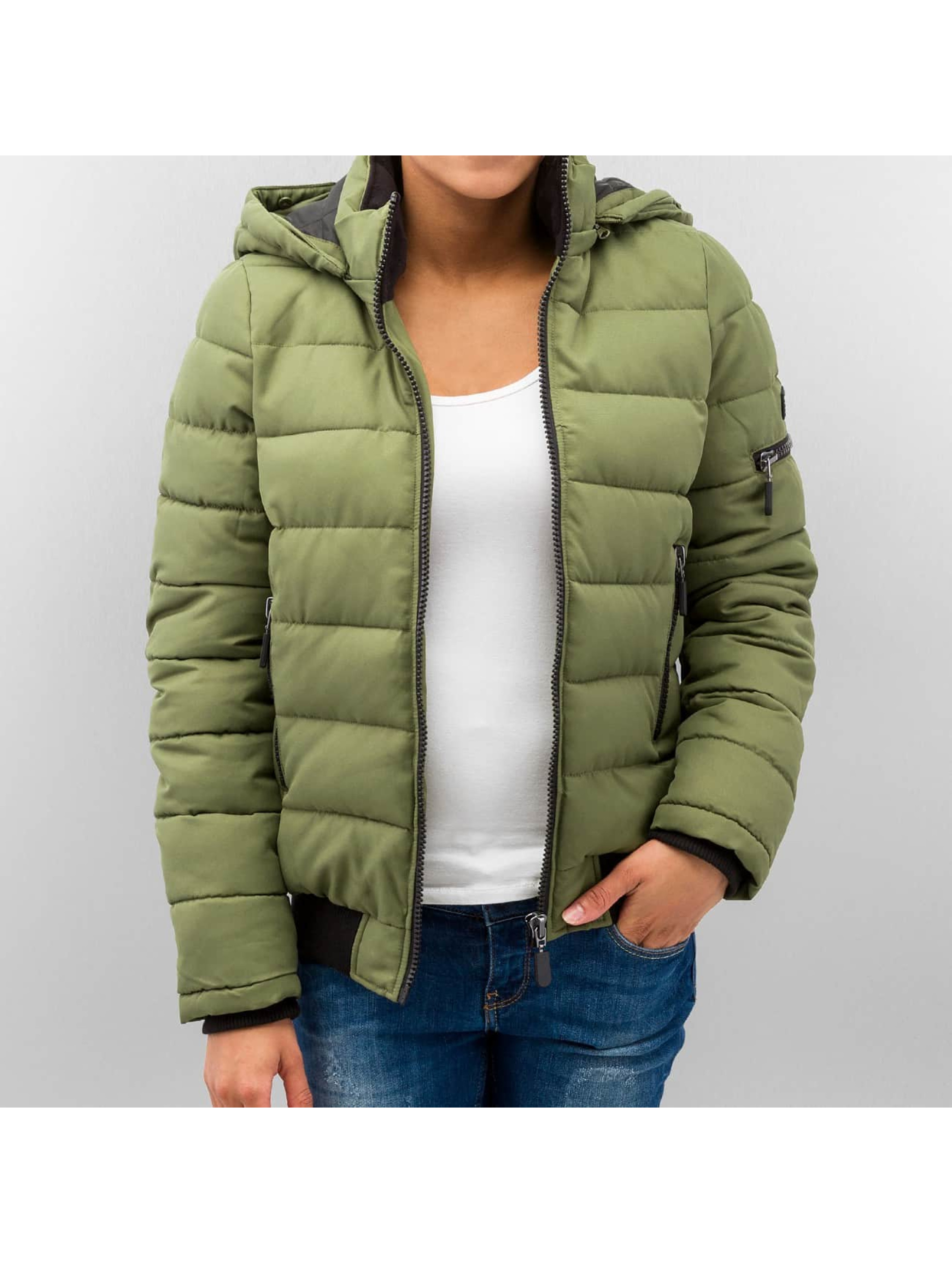 Vero Moda vmSandra Short Jacket Denim Ivy Green