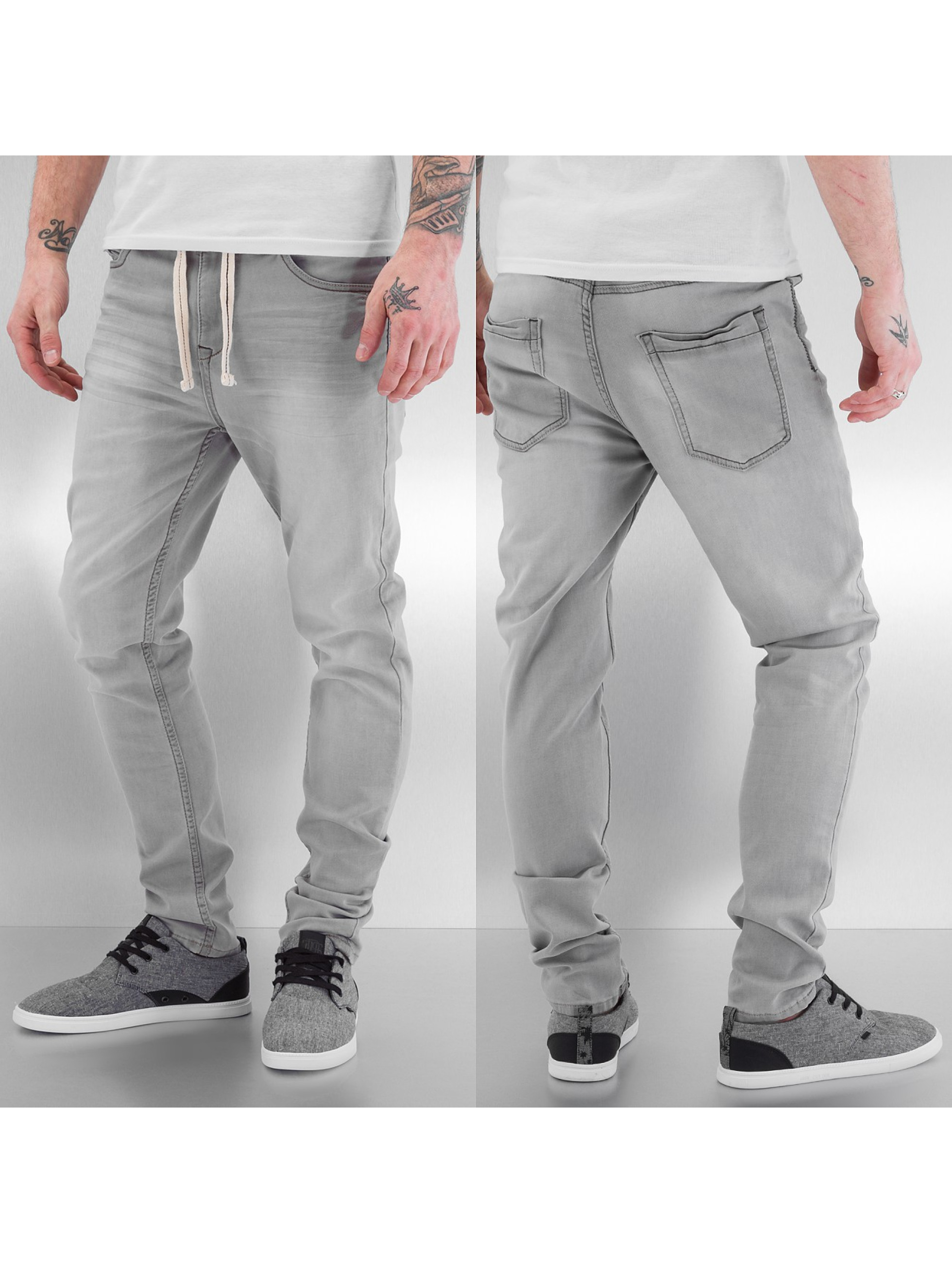 Sublevel Hilmar Jogg Jeans Light Grey Denim