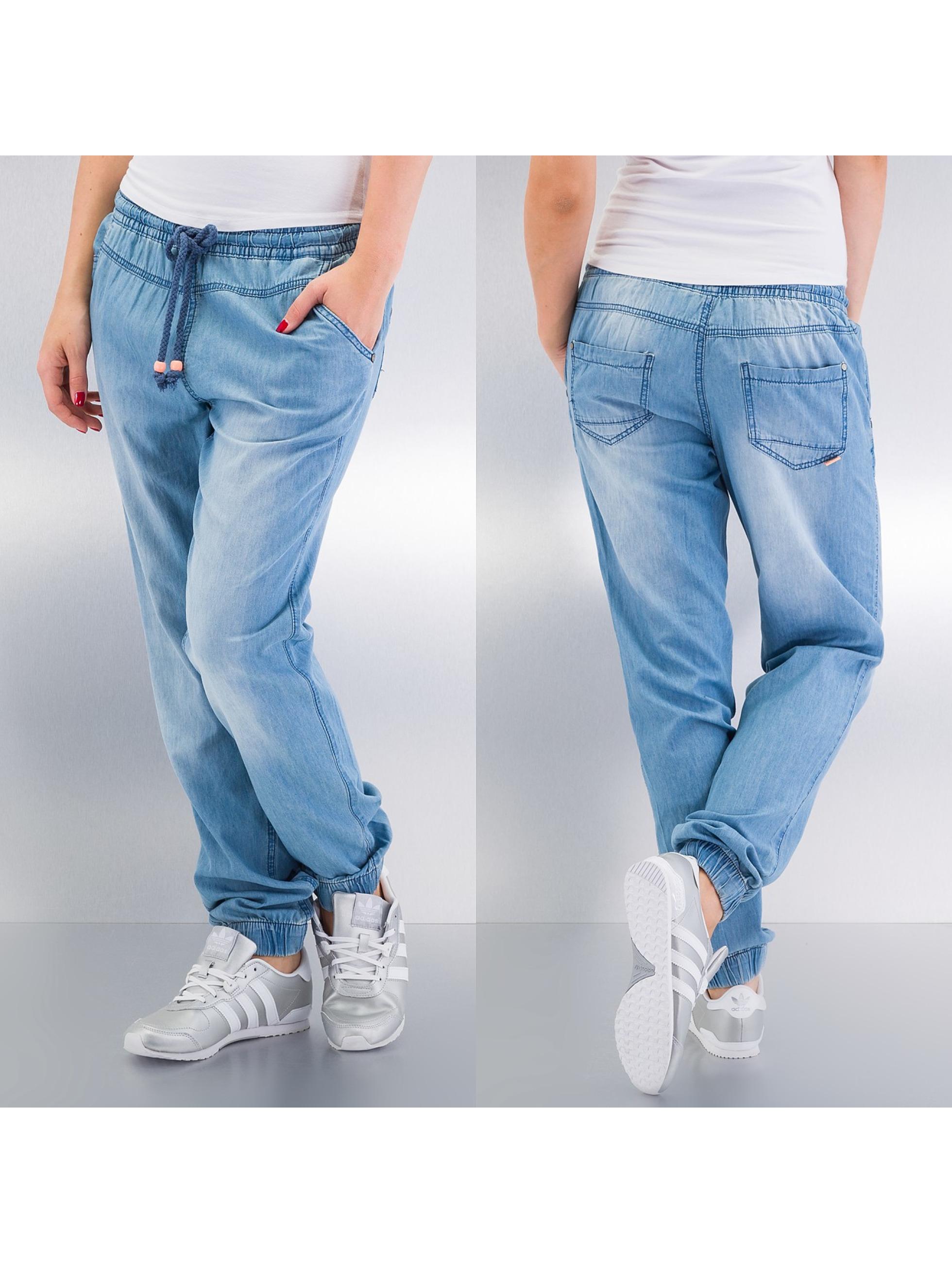 Stitch & Soul Frauen Chino Pants in blau