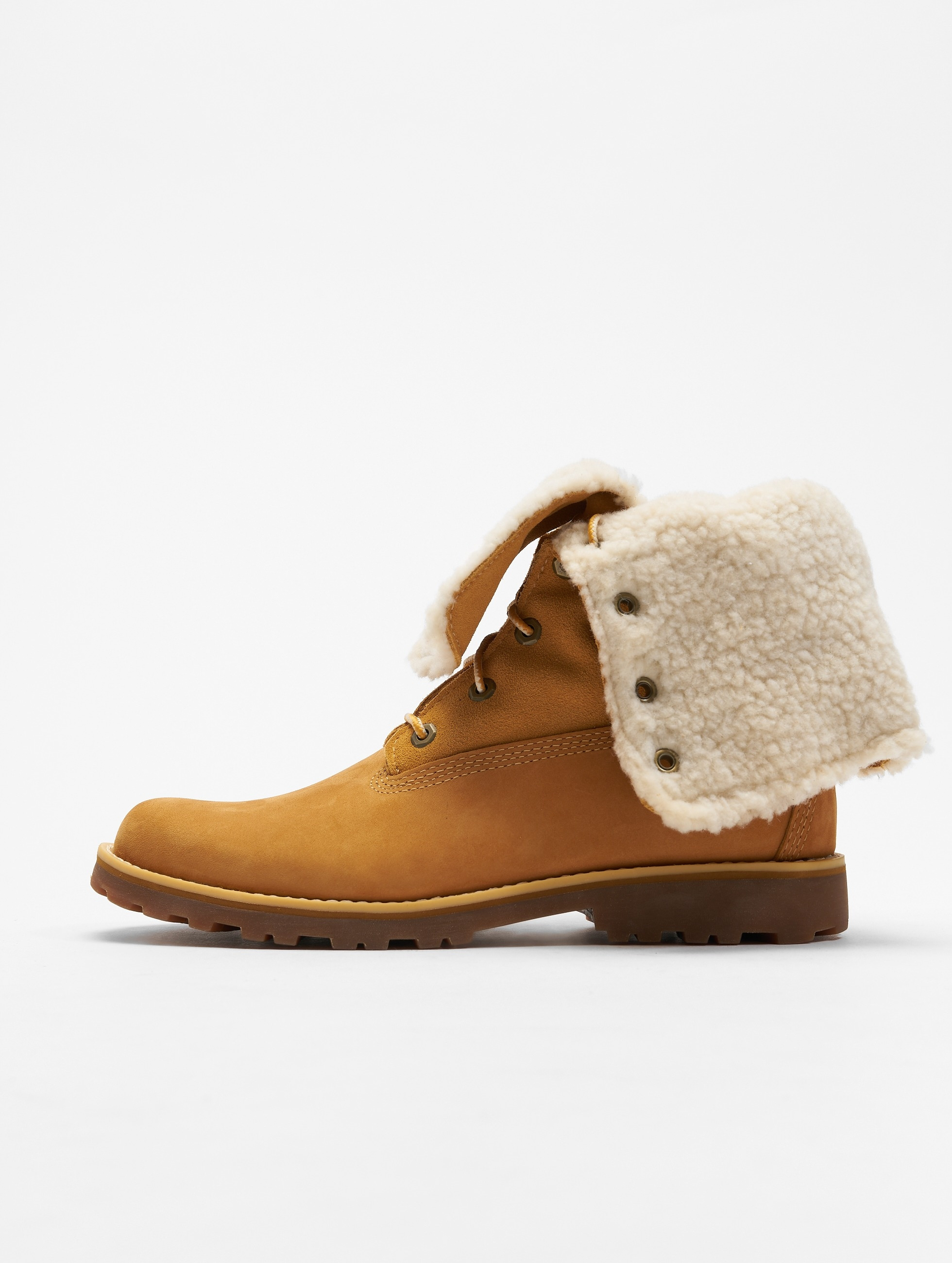 Timberland Frauen Boots 6 Inch Waterproof Shearling in beige