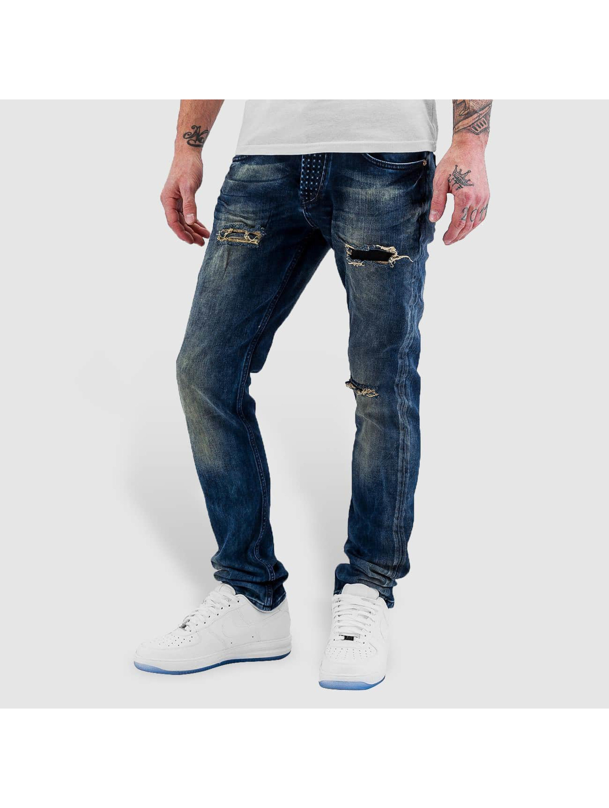 Bangastic Männer Straight Fit Jeans Widow in blau Sale Angebote Guteborn