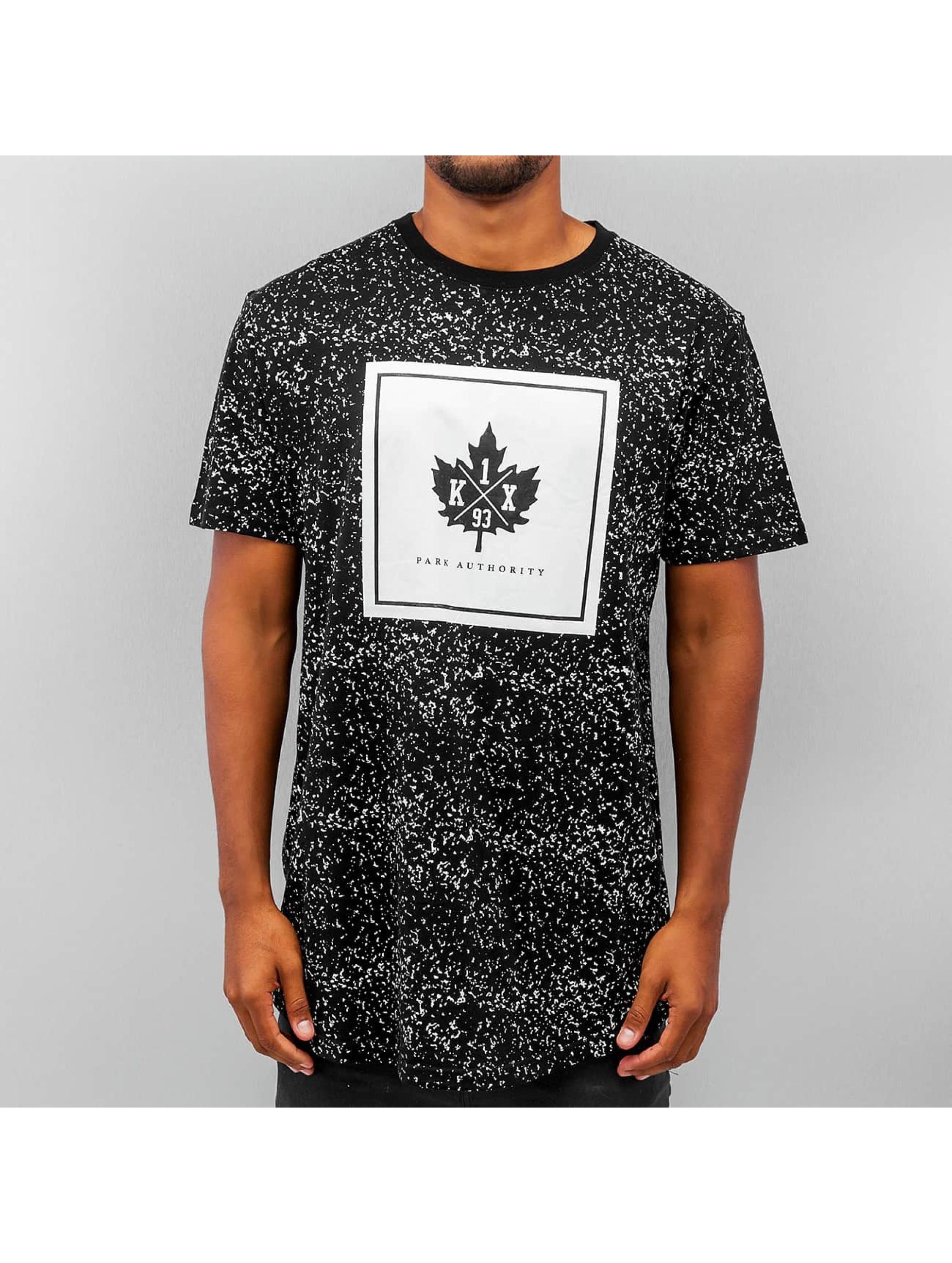 K1X Speckle Leaf Long T Shirt Black