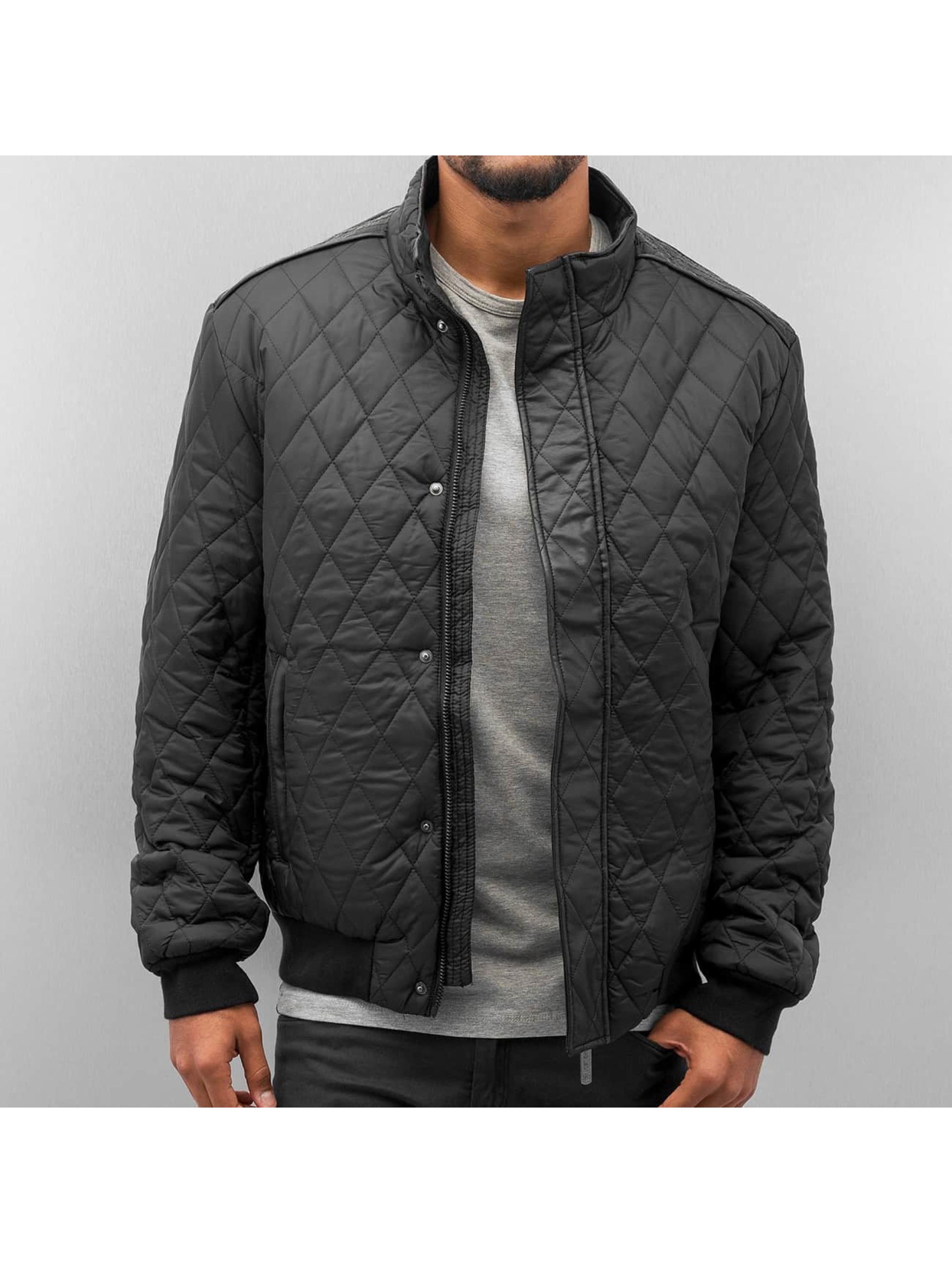 Just Rhyse Quilt Winter Jacket Black Sale Angebote Döbern
