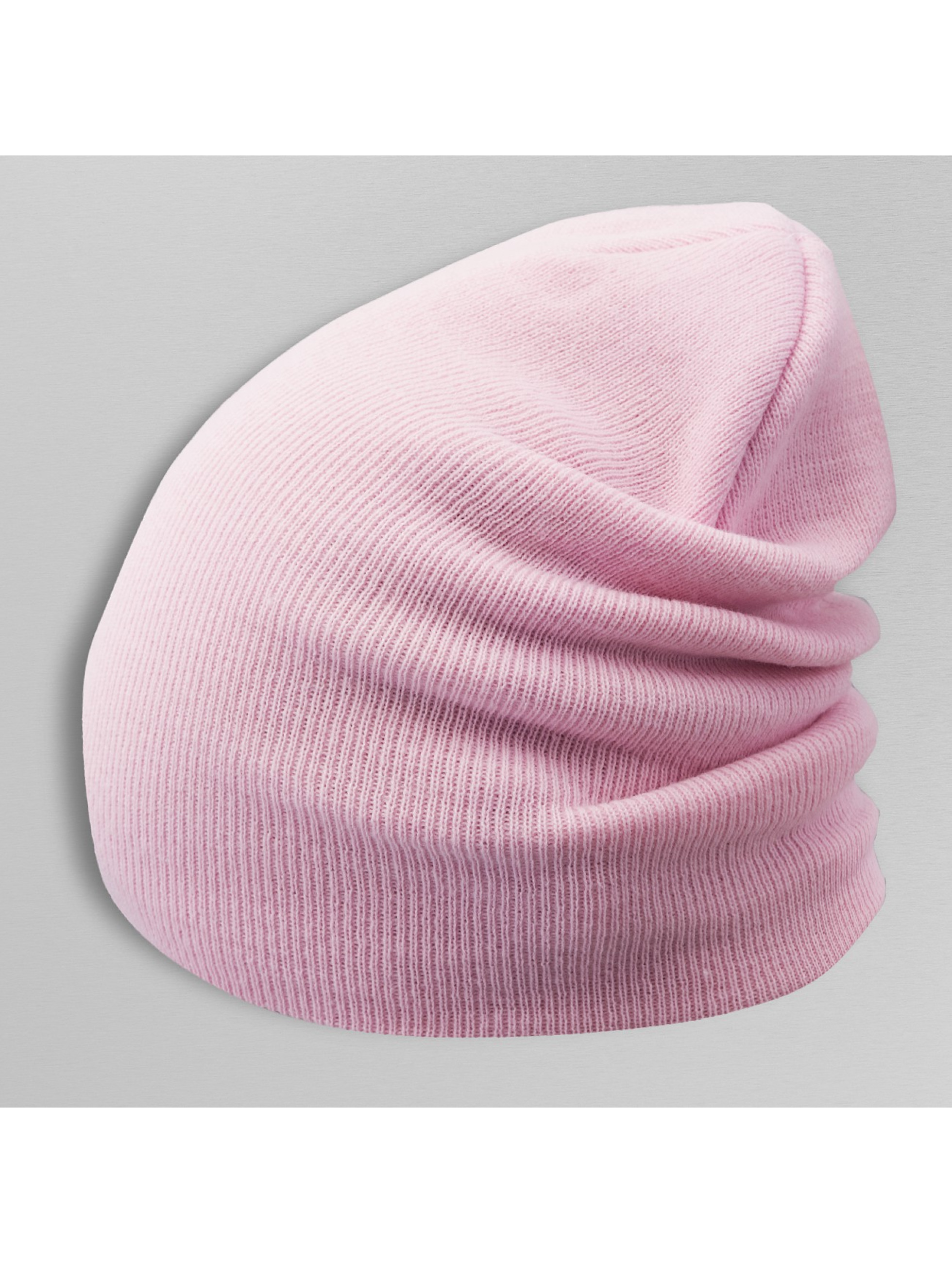 Flexfit Männer,Frauen Beanie Heavyweight Long in rosa