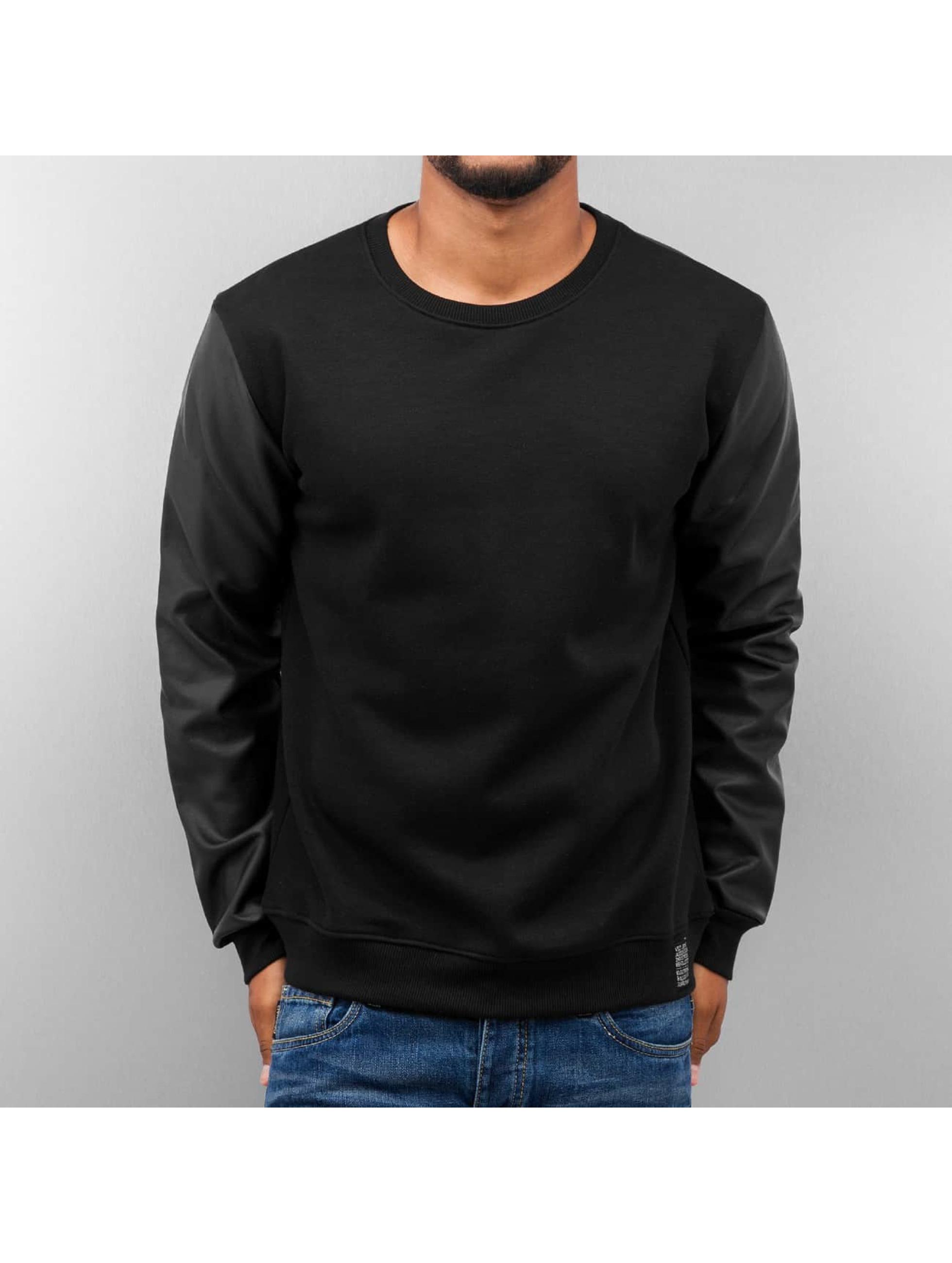 VSCT Clubwear Männer Pullover Basic in schwarz