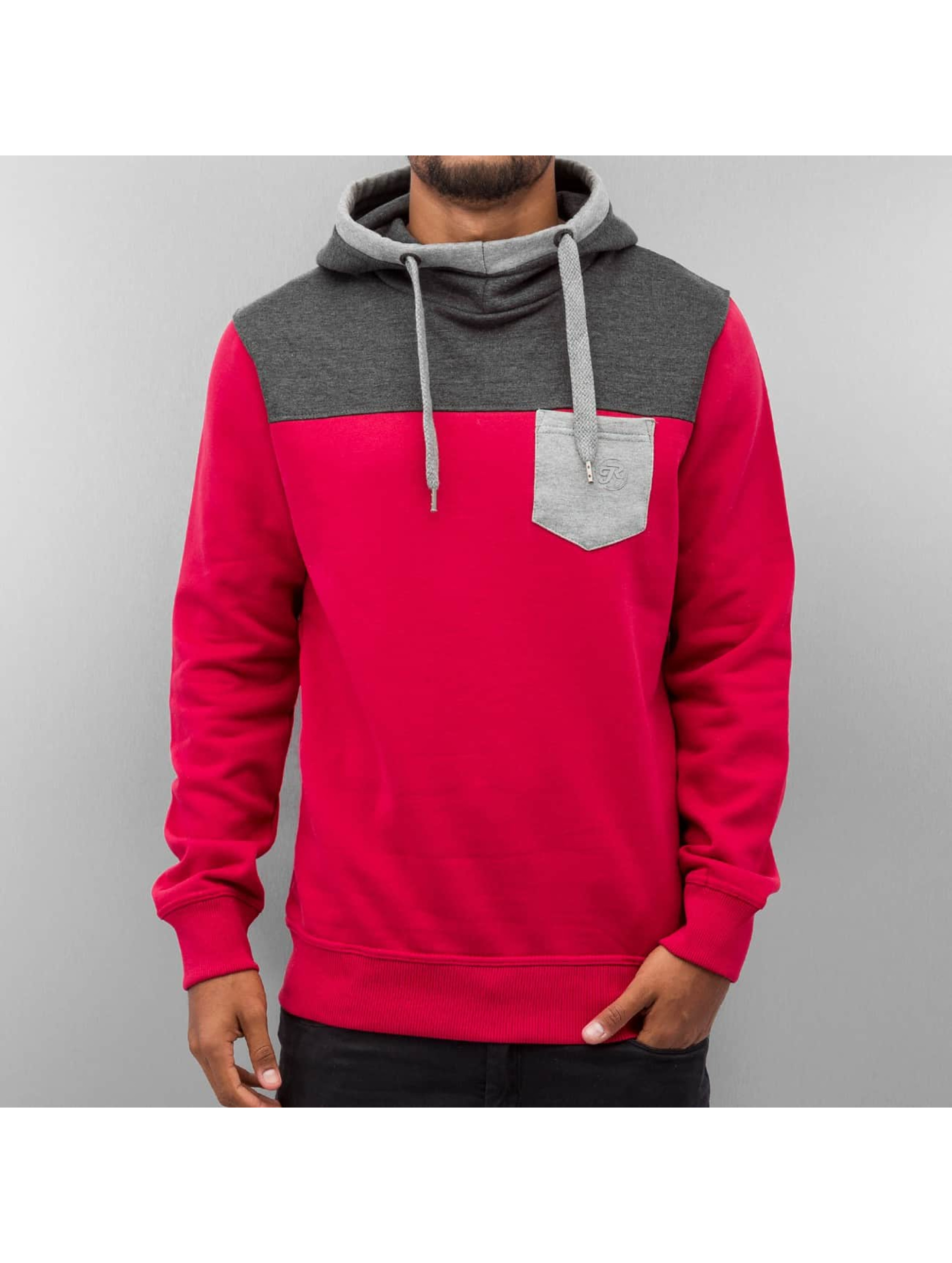Just Rhyse Männer Hoody 3 Tone in rot