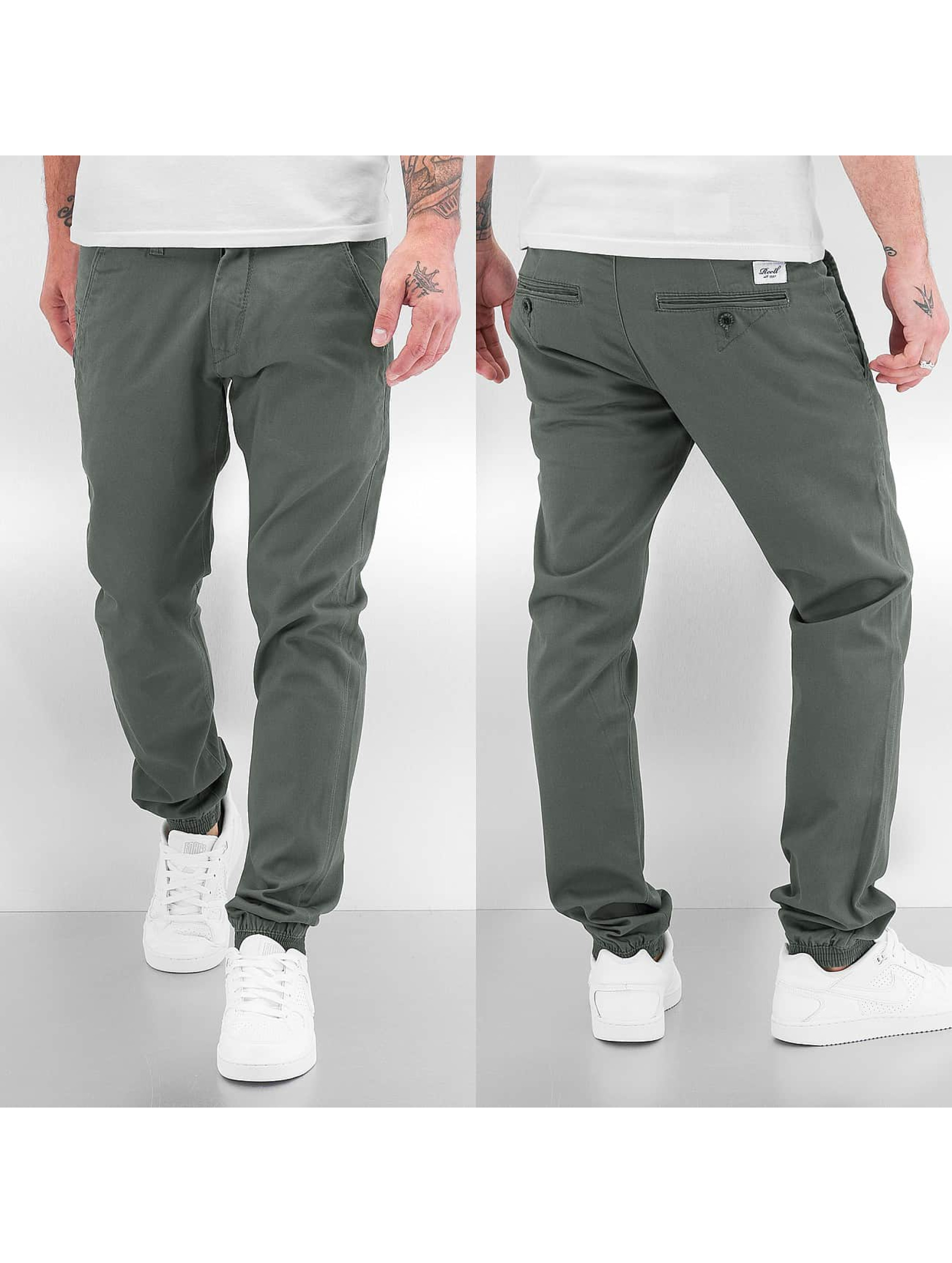Reell Jeans Männer Chino Jogger in grau