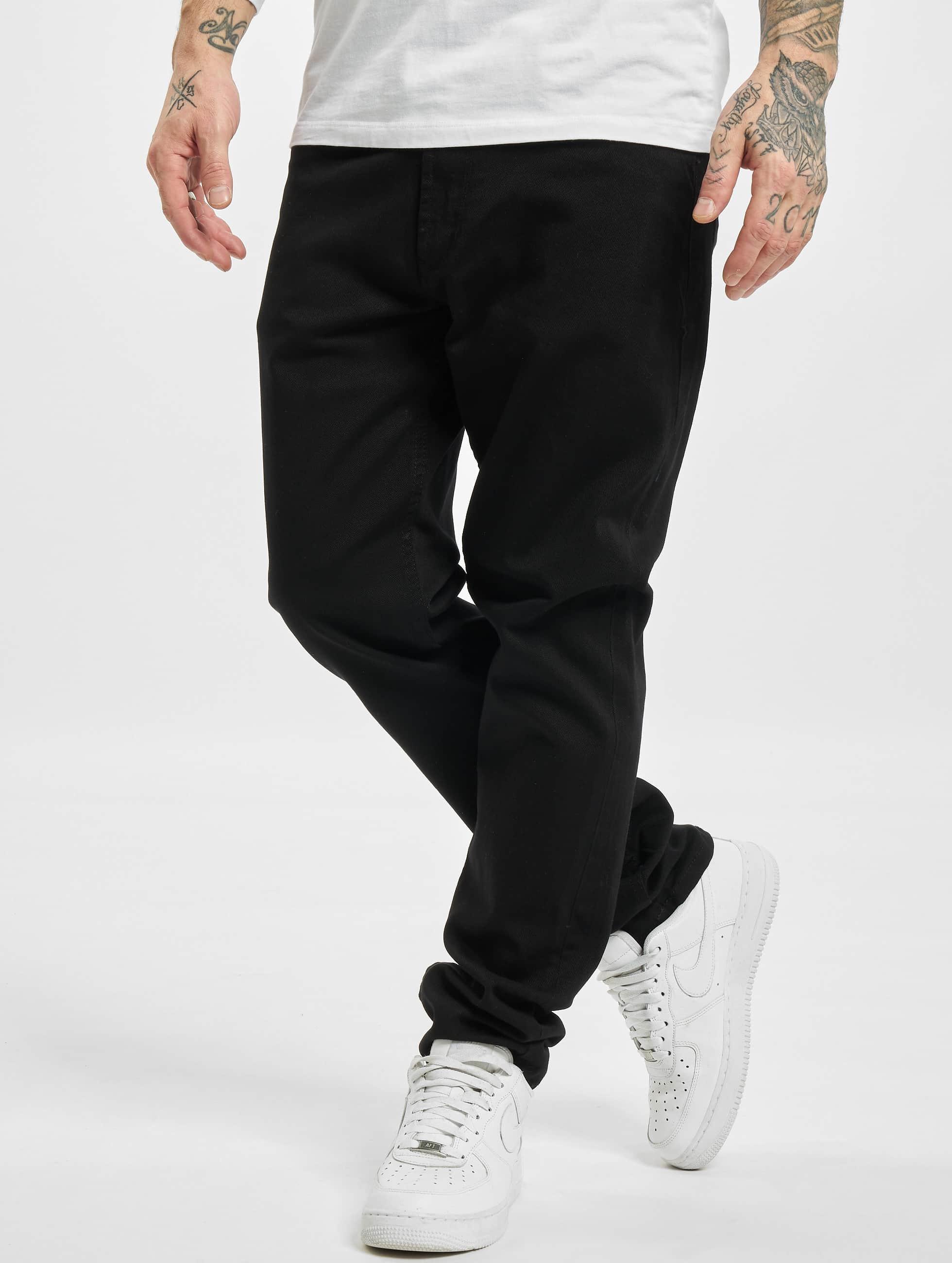 Reell Jeans Männer Straight Fit Jeans Nova II in schwarz
