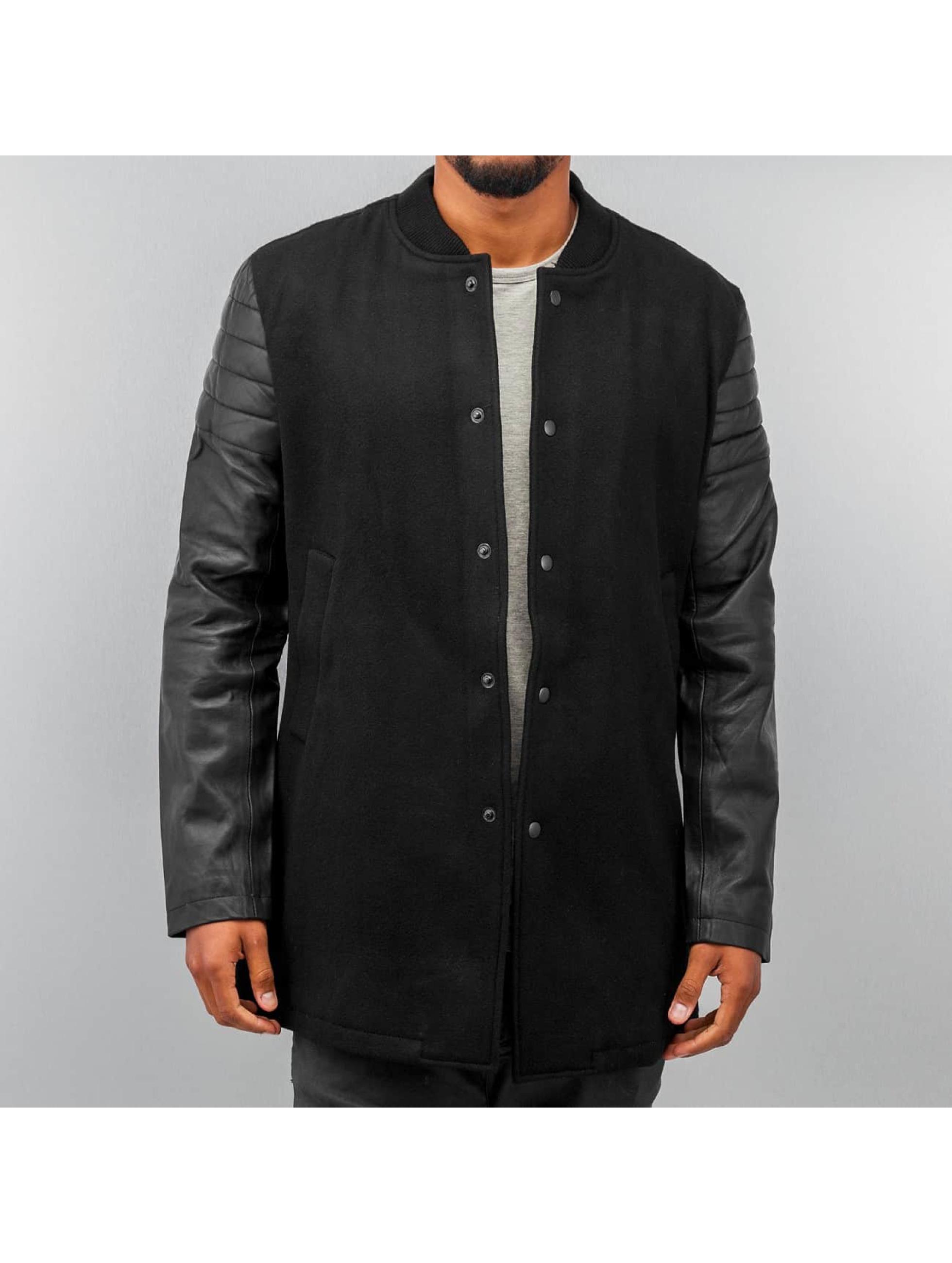 Religion Jaxson Long College Jacket Jet Black