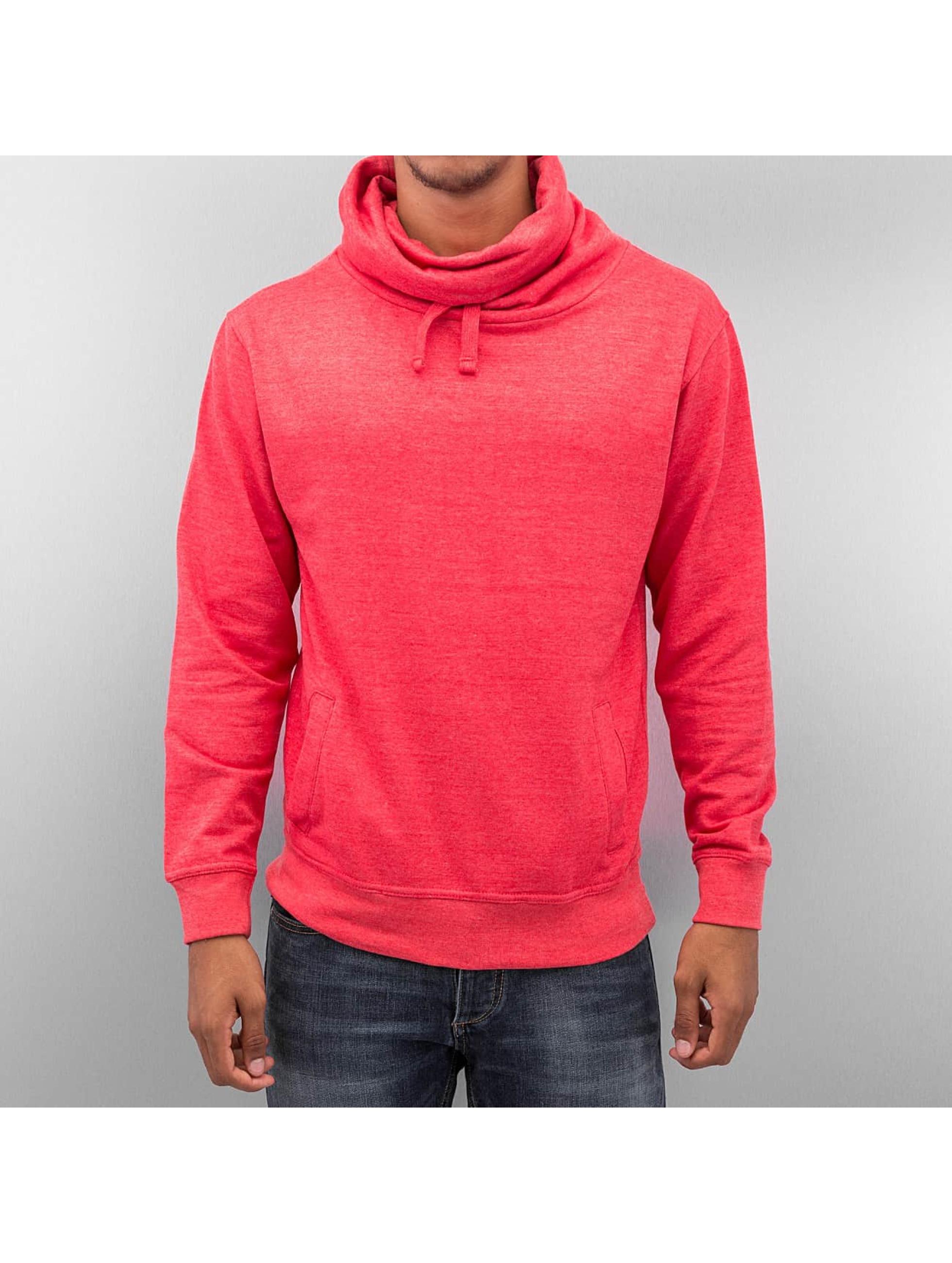 Dehash Männer Pullover Turtleneck in rot
