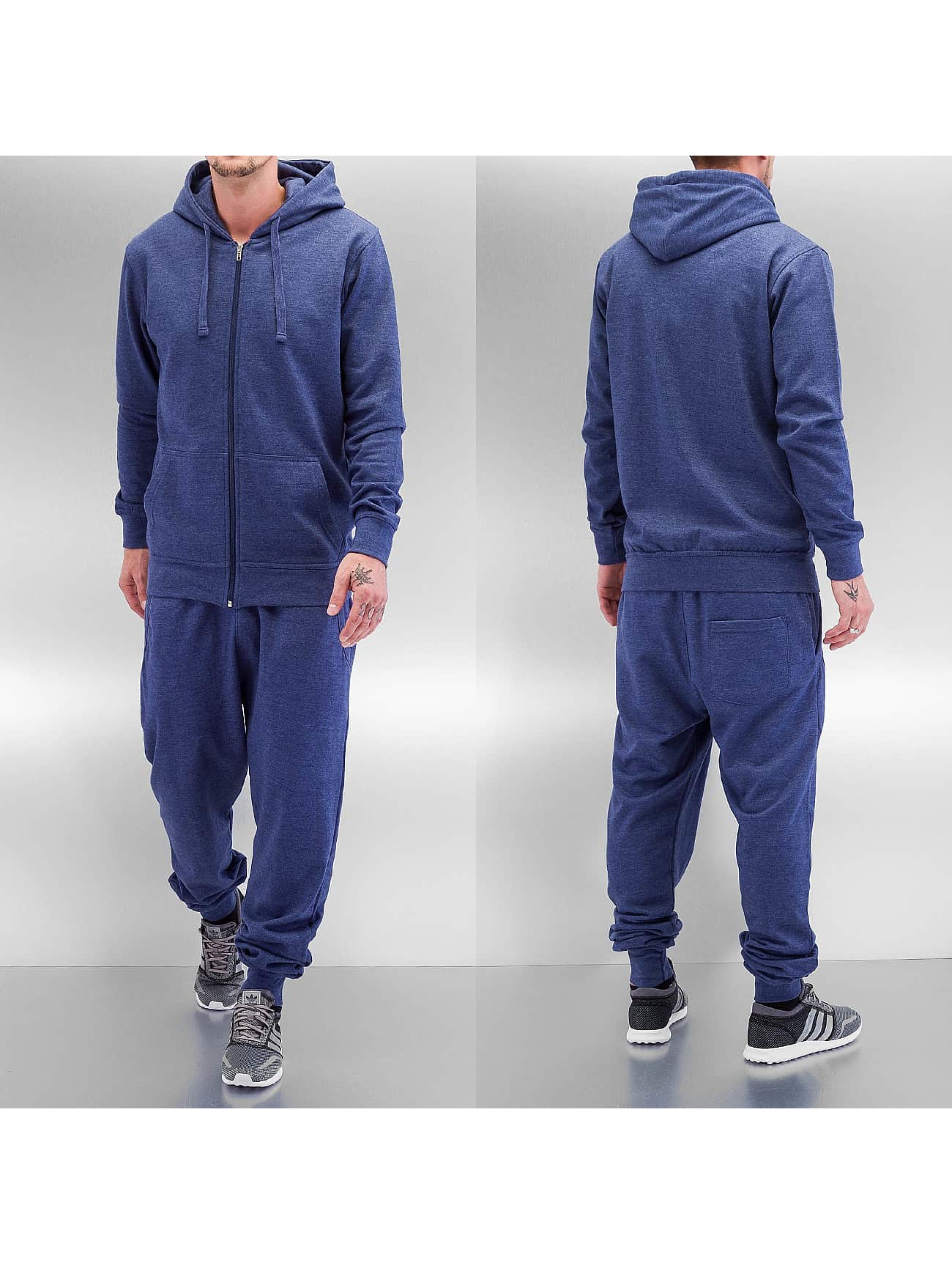 Dehash Basic Sweat Suit Blue Melange