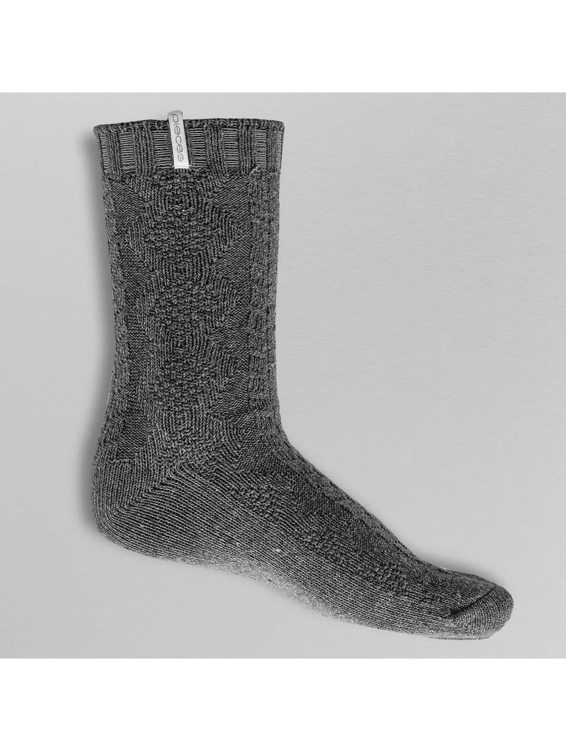 Pieces Frauen Socken pcVini in grau