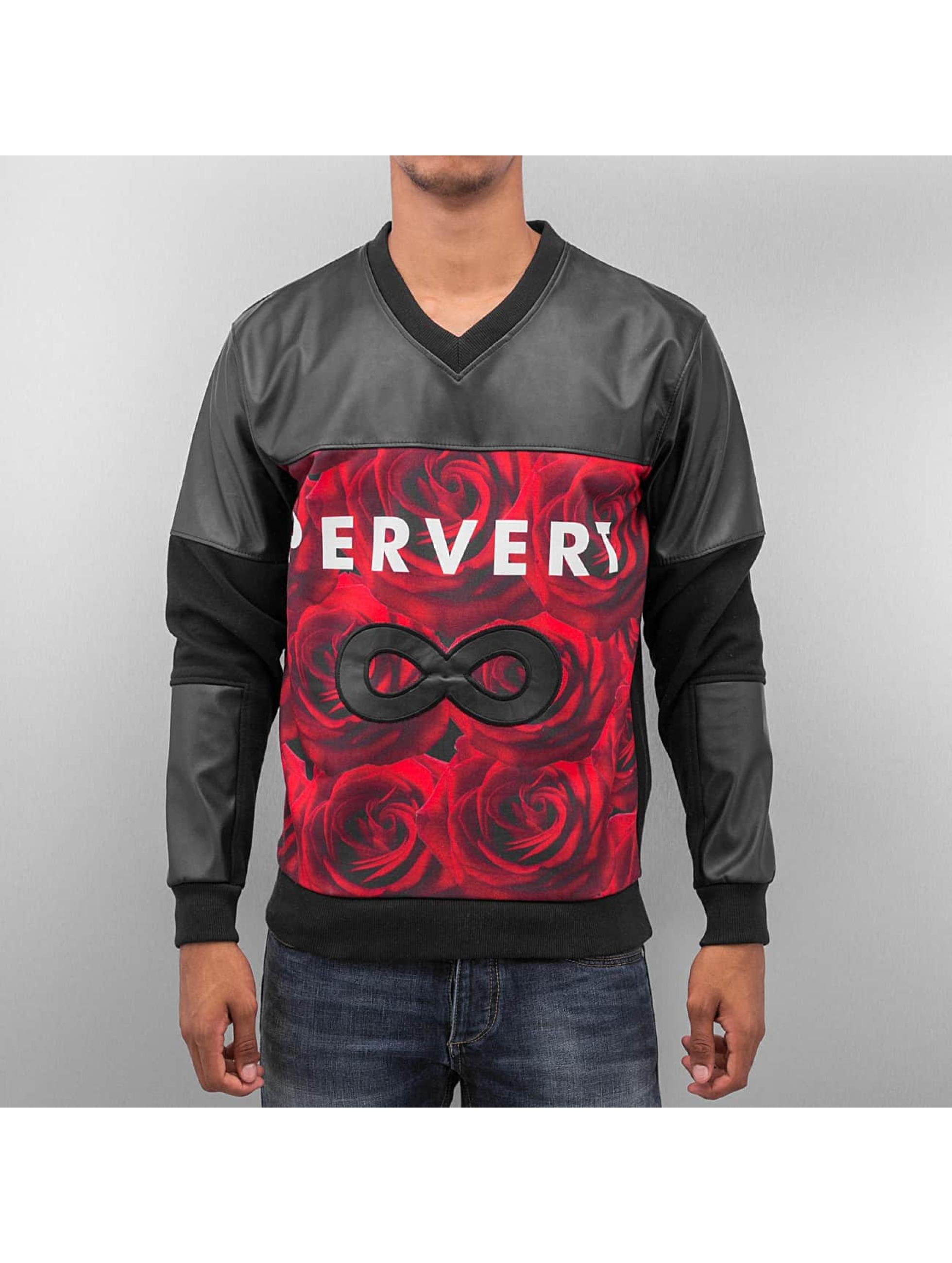 Bangastic Männer Pullover Pervert in schwarz