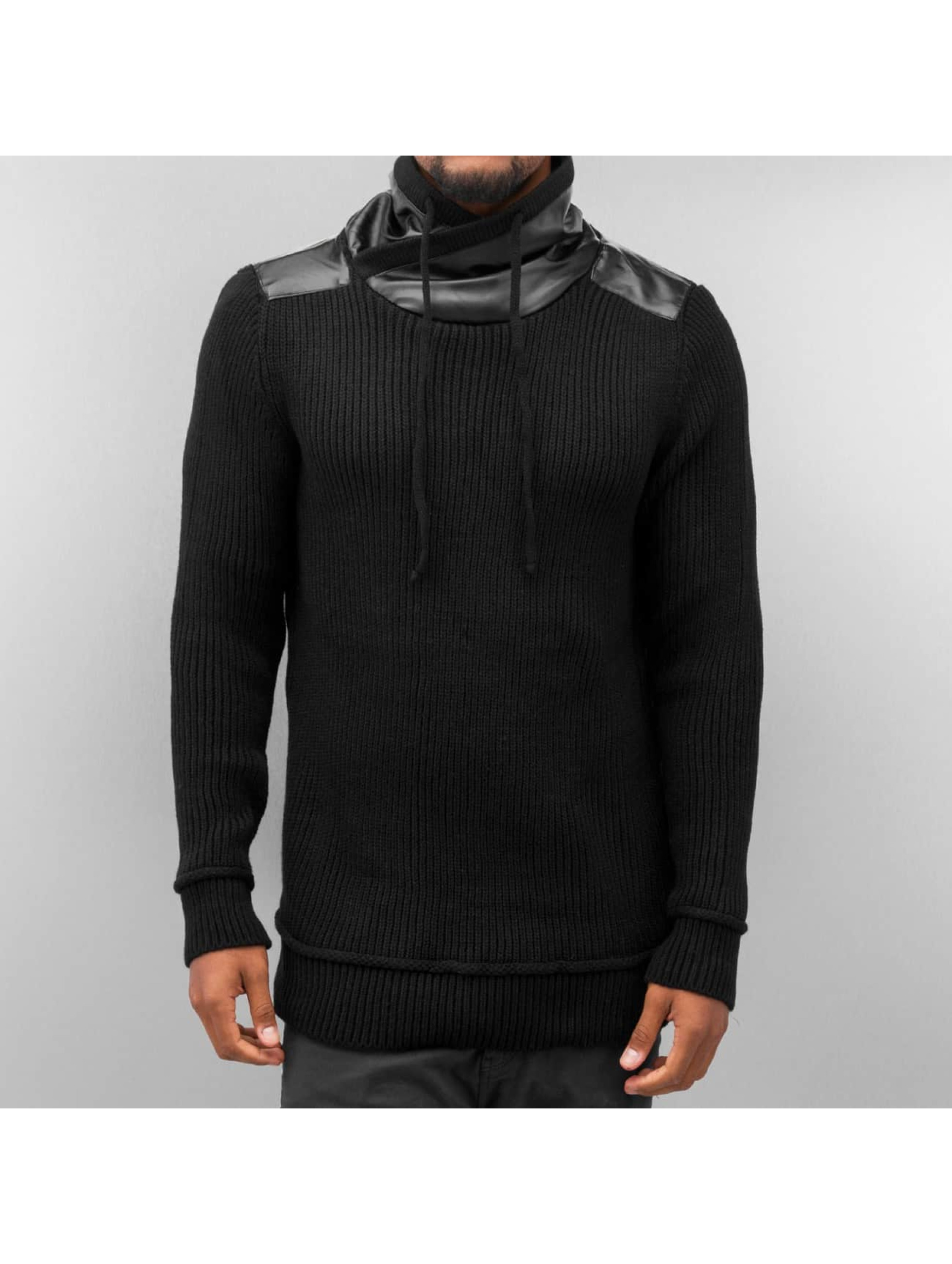 Neiße-Malxetal Angebote Bangastic Männer Pullover Knitted in schwarz